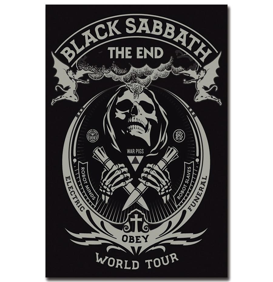 Famous J3198 Black Sabbath The End World Tour Ozzy Osbourne Pop 14X21 24X36 For Osbourne Wall Decor (View 5 of 20)