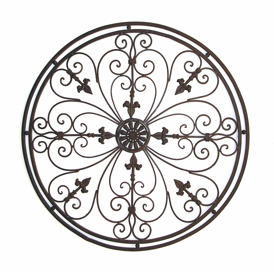 Famous Ornamental Wood And Metal Scroll Wall Decor Throughout Wrought Iron Scroll Wall Decor – Best Wall Decor (View 11 of 20)