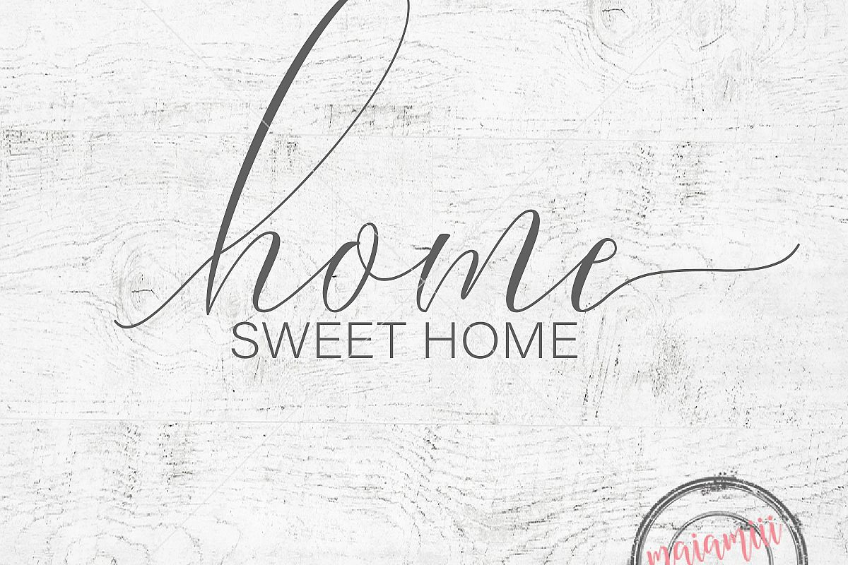 Fashionable Laser Engraved Home Sweet Home Wall Decor In Home Sweet Home Svg File Cricut File Home Svg Wood Sign Farmhouse (View 4 of 20)