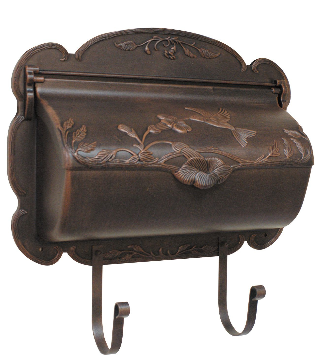 Fashionable Special Lite Hummingbird Horizontal Mailbox (View 12 of 20)