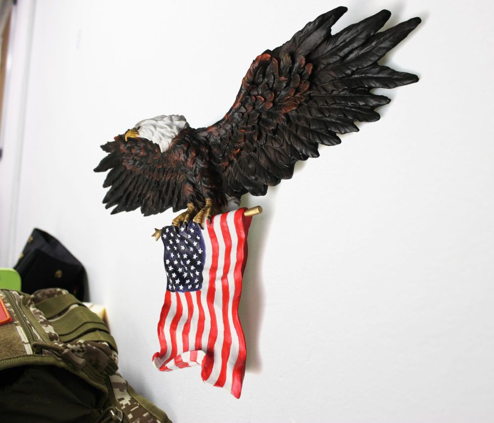 Favorite American Pride 3D Wall Decor Inside Shop For 3D American Eagle Wall Sculptures, Hanging Mount Art Wall (View 14 of 20)