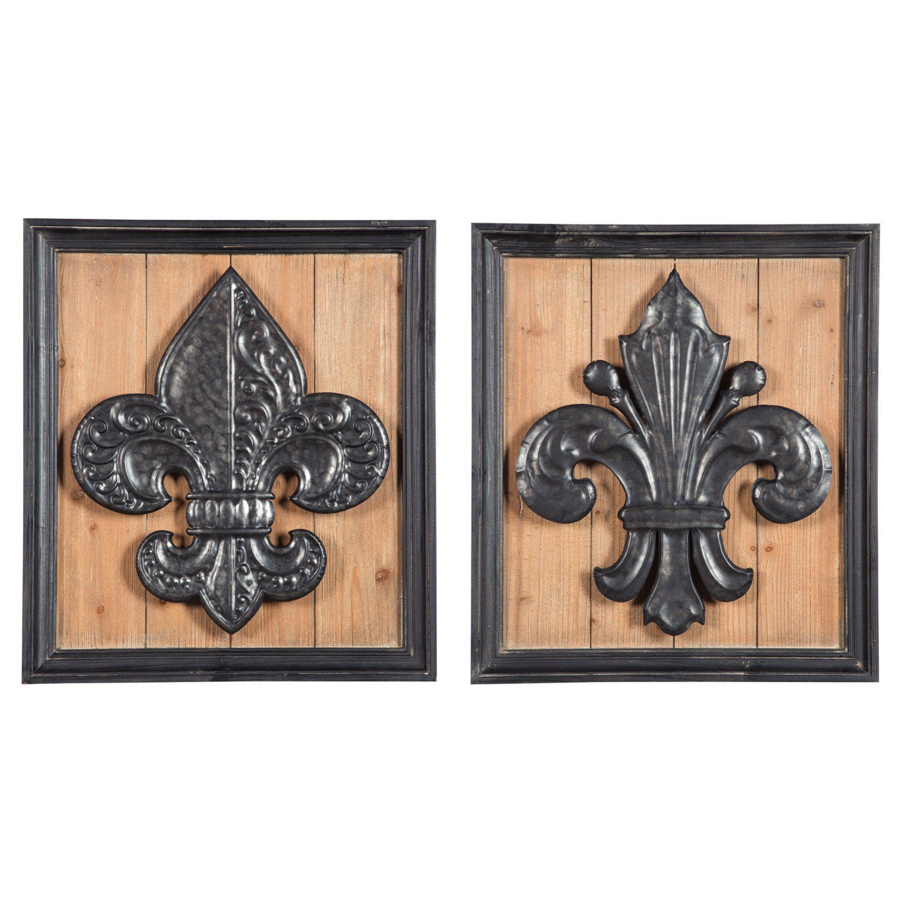Favorite Signature Designashley Donnan Wall Panel - Set Of 2 - A8010058 with 2 Piece Panel Wood Wall Decor Sets (Set Of 2)