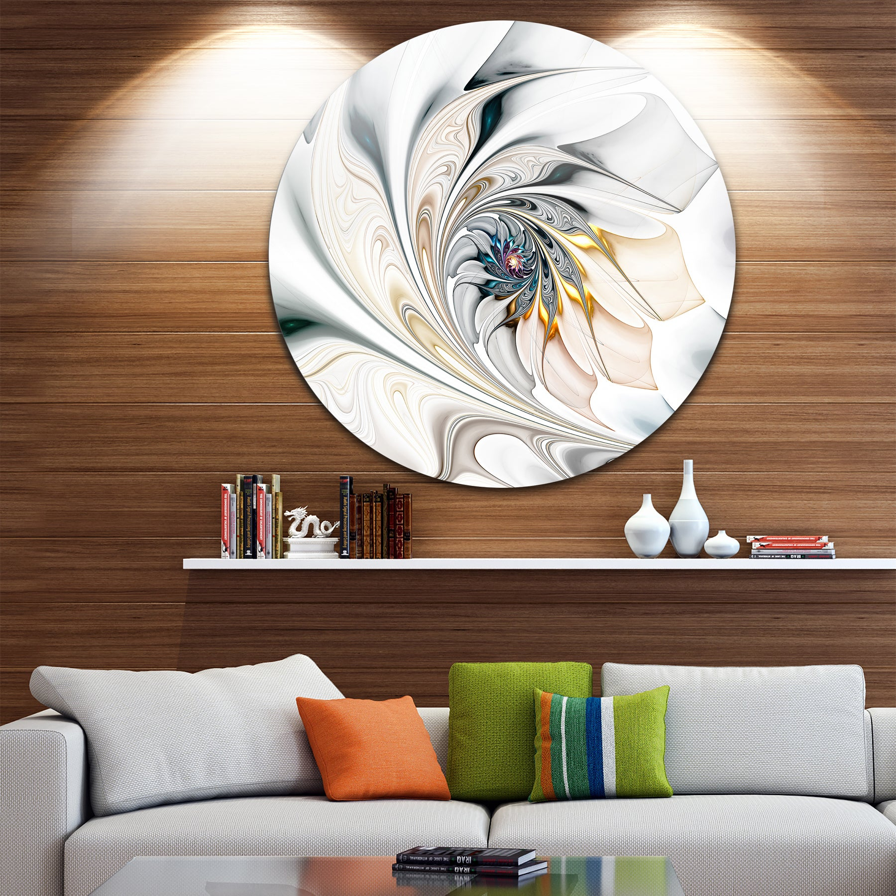 Find Great Art Gallery Deals Shopping At Overstock For 2 Piece Multiple Layer Metal Flower Wall Decor Sets (View 9 of 20)
