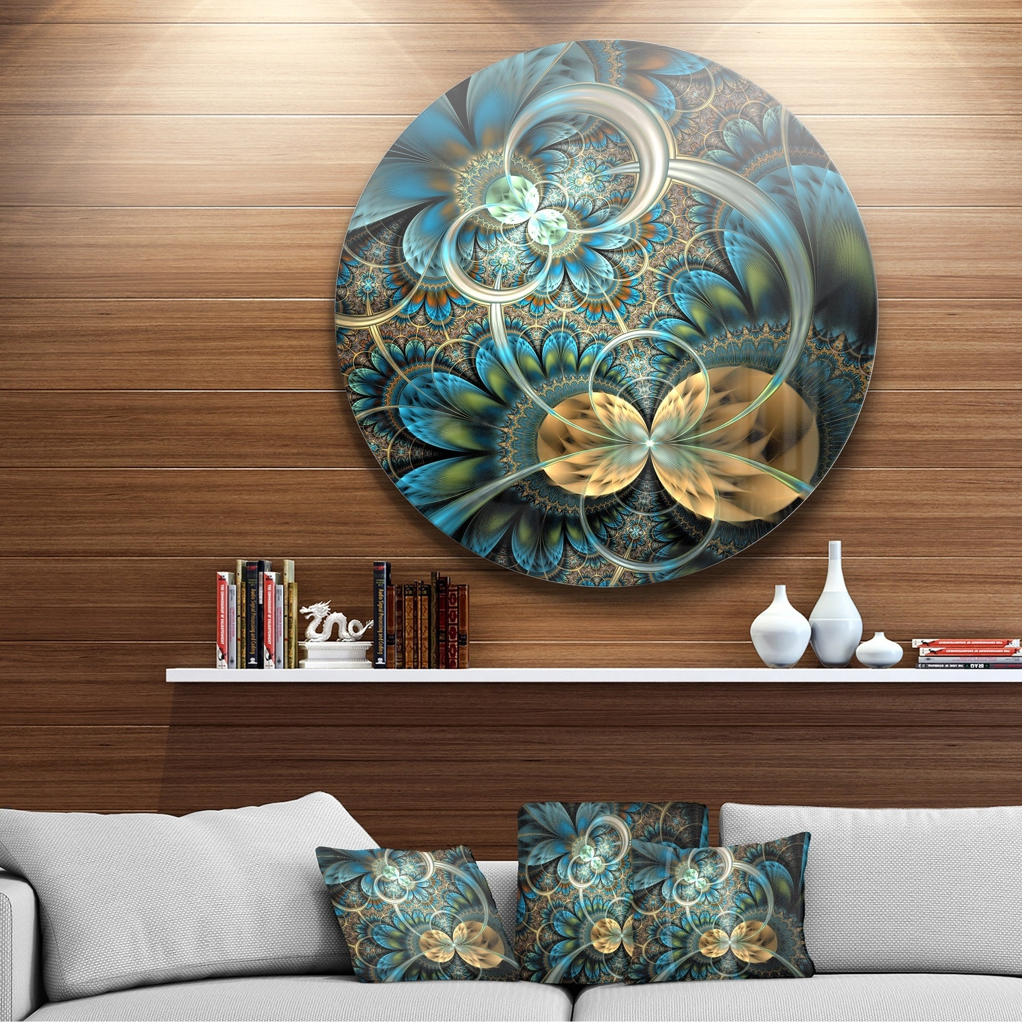 Find Great Art Gallery Deals Shopping At Overstock Within 2 Piece Multiple Layer Metal Flower Wall Decor Sets (View 7 of 20)
