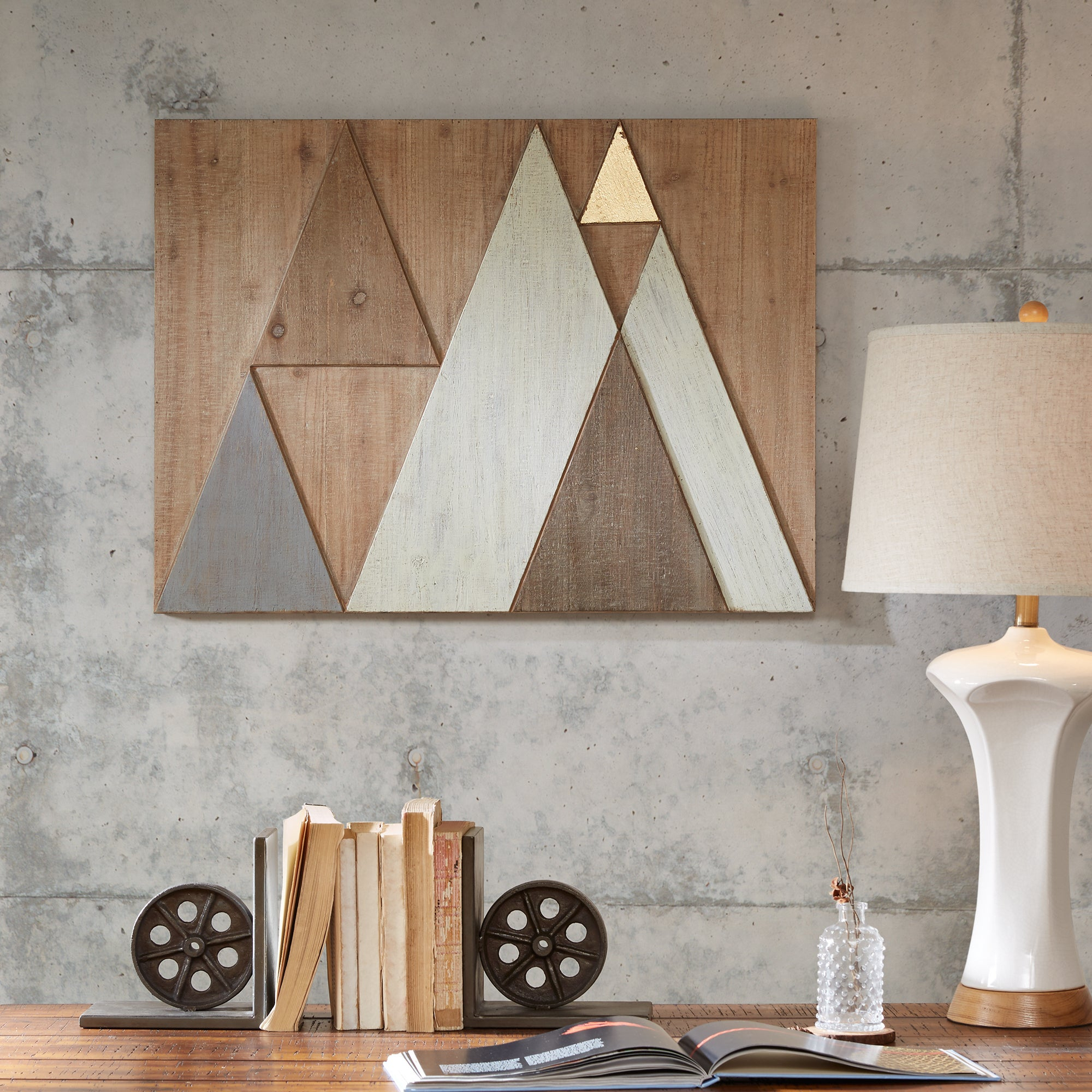 Find Great Art Gallery Deals Shopping At Overstock Within 2 Piece Panel Wood Wall Decor Sets (Set Of 2) (View 9 of 20)