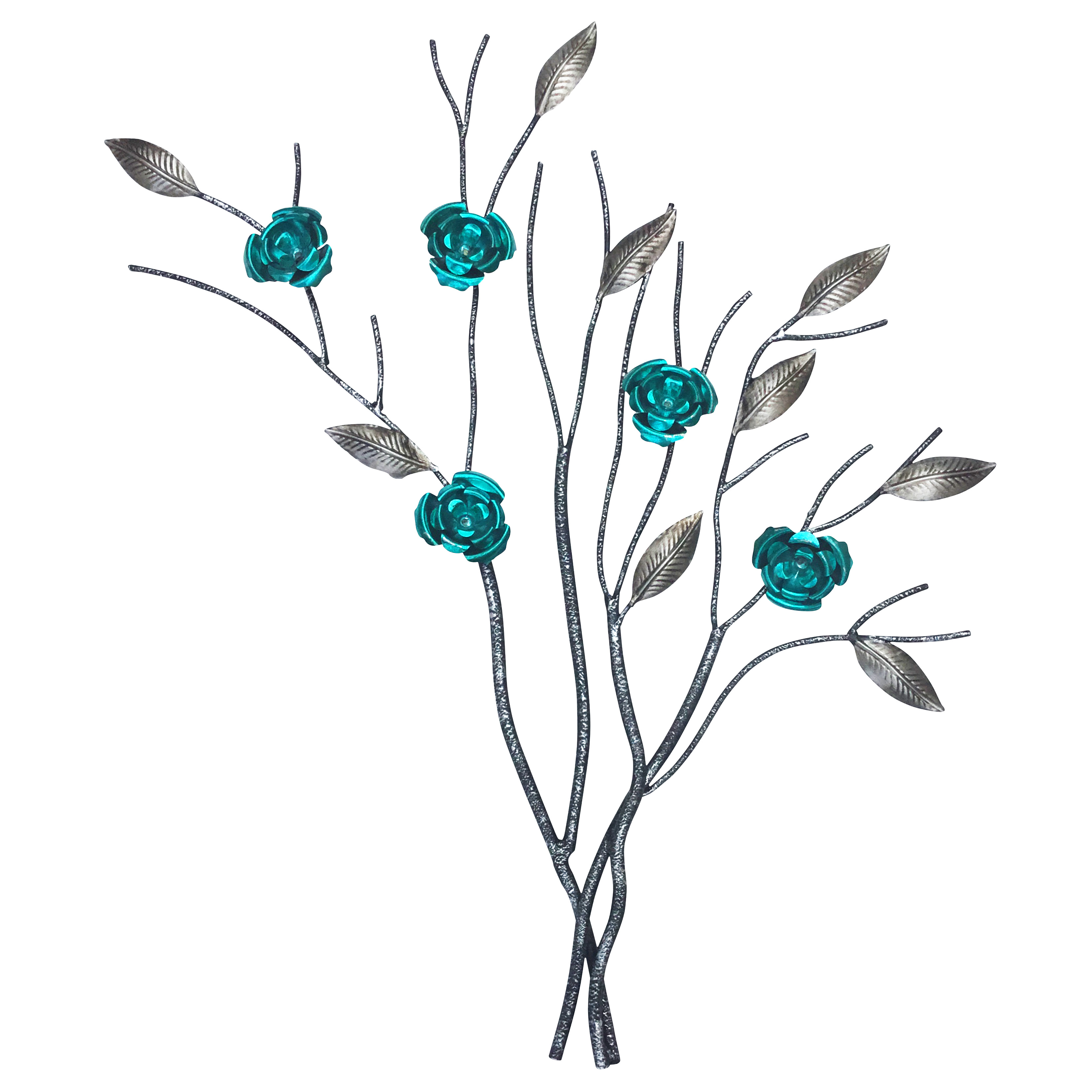Flower And Butterfly Urban Design Metal Wall Decor Regarding Well Liked Metal Wall Art Uk (View 18 of 20)