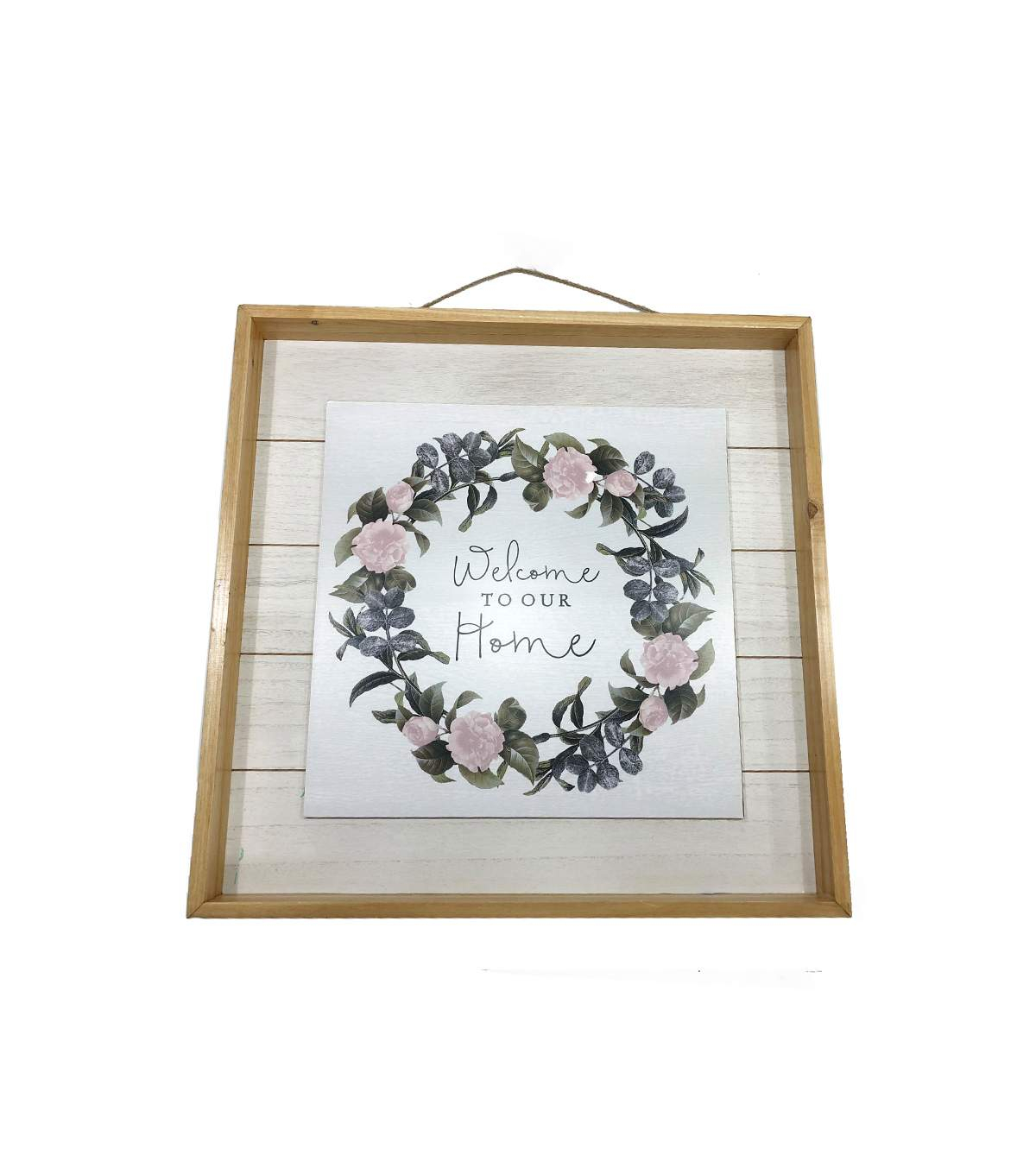 Joann Inside Floral Wreath Wood Framed Wall Decor (View 12 of 20)