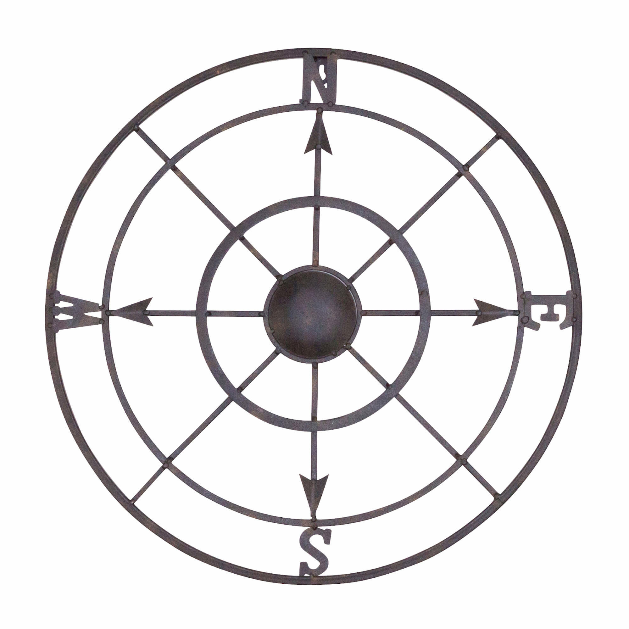 Joss & Main Inside Round Compass Wall Decor (View 7 of 20)