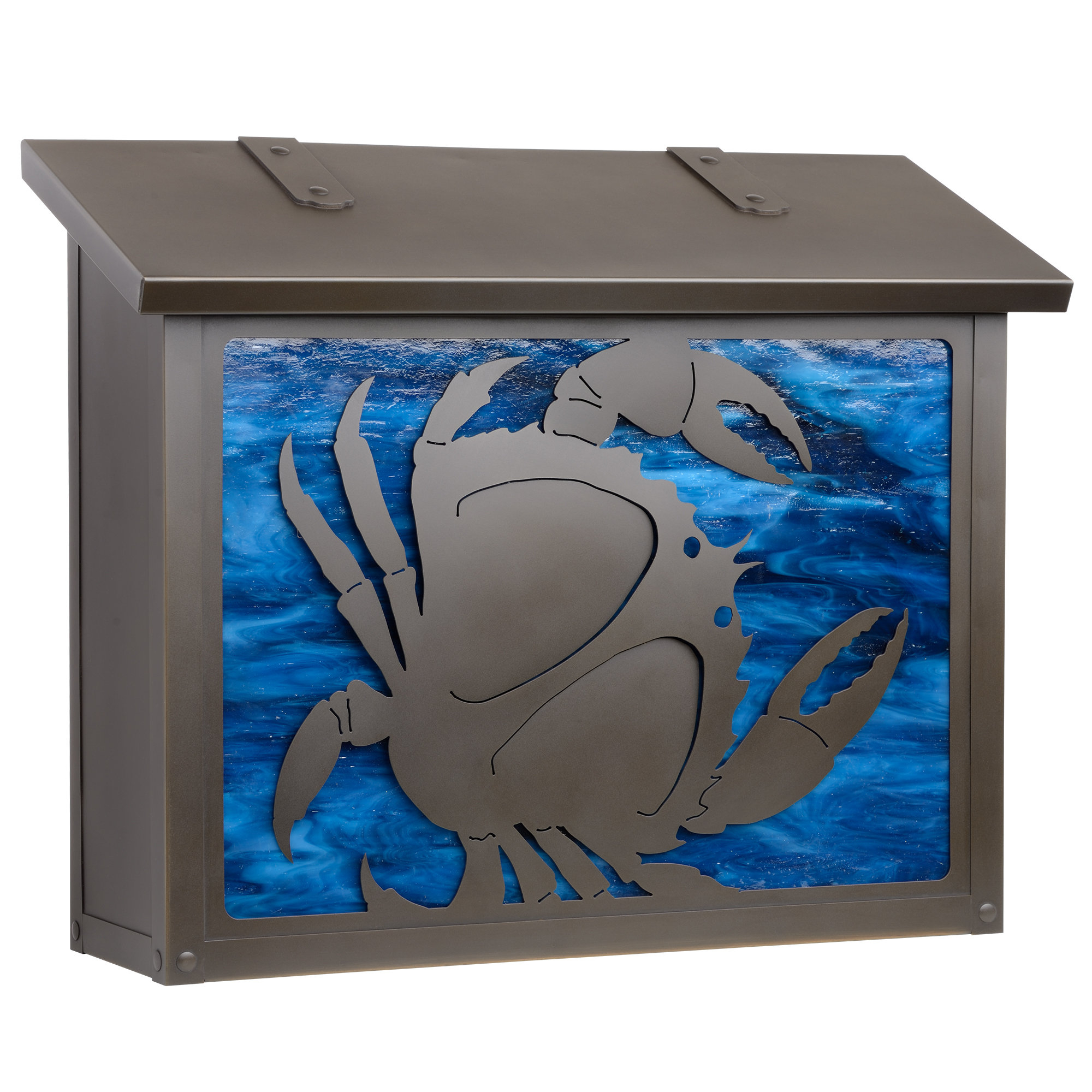 Lacordaire Wall Mounted Mailbox Throughout Best And Newest America's Finest Lighting Company Coastal Cottage Wall Mounted (View 11 of 20)