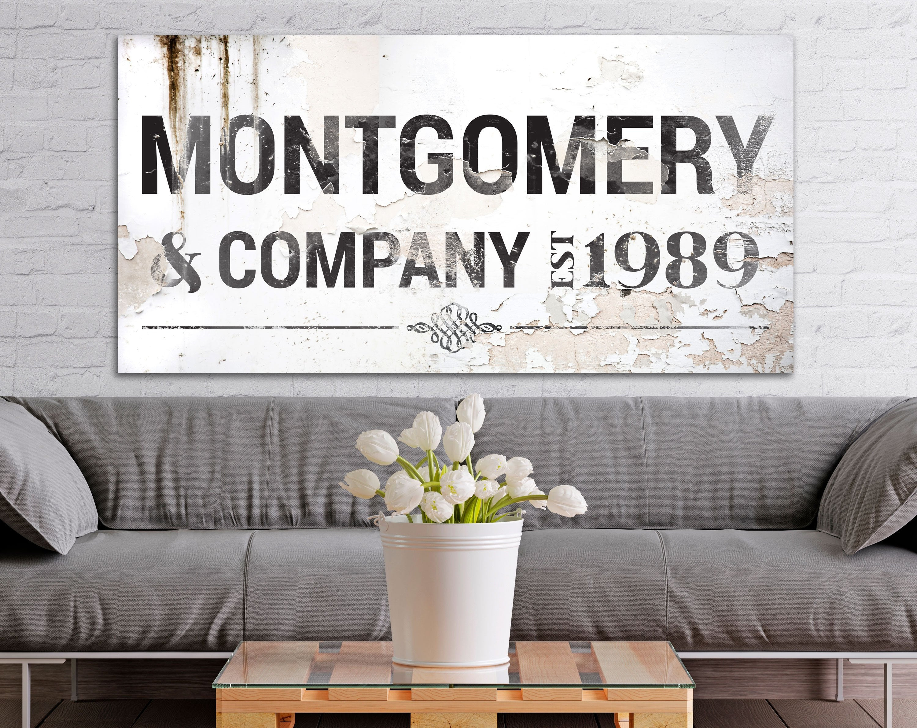 Large Modern Industrial Wall Decor In Recent Farmhouse Family Wall Art Industrial Modern Decor Large (View 7 of 20)