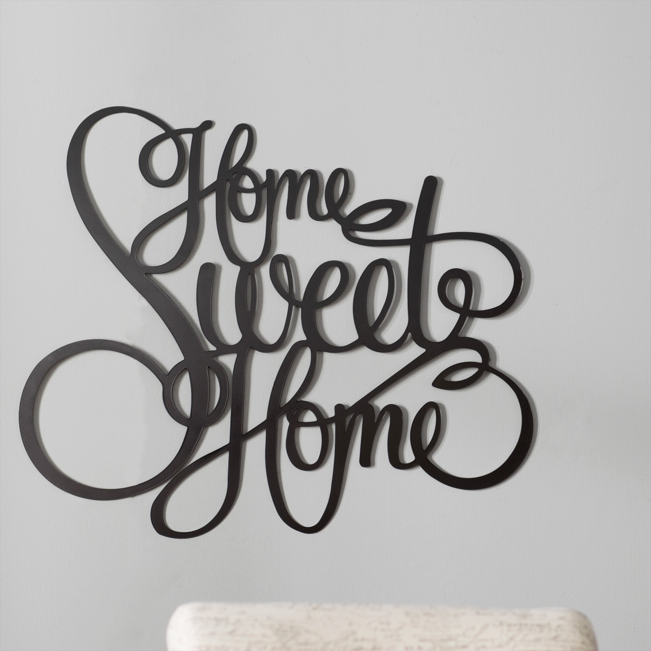 Laser Engraved Home Sweet Home Wall Decor regarding Most Popular Red Barrel Studio Laser Engraved Home Sweet Home Wall Décor