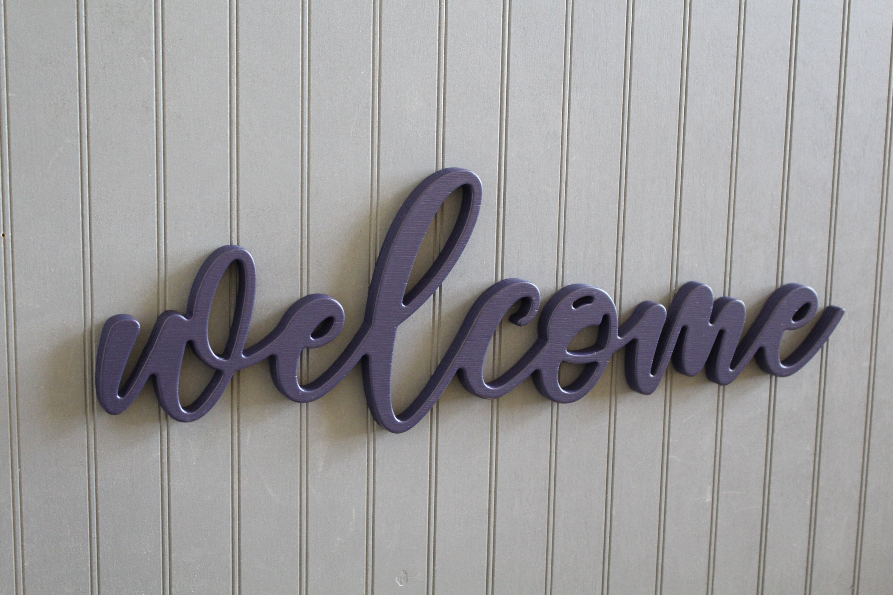 Latest Welcome Wall Sign Welcome Cut Out Sign Welcome Wall Decor (View 8 of 20)