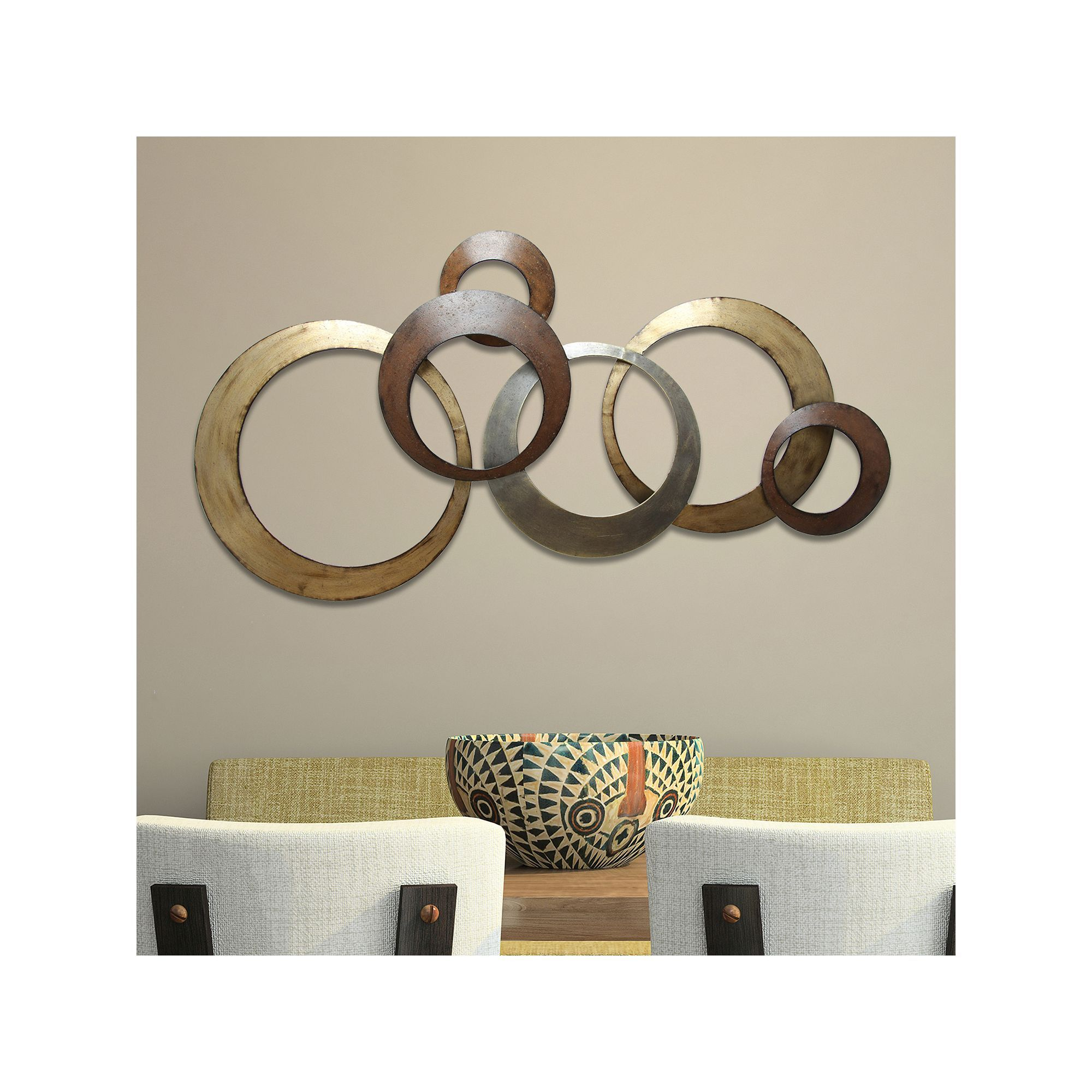 Metal Intended For Rings Wall Decor (View 5 of 20)
