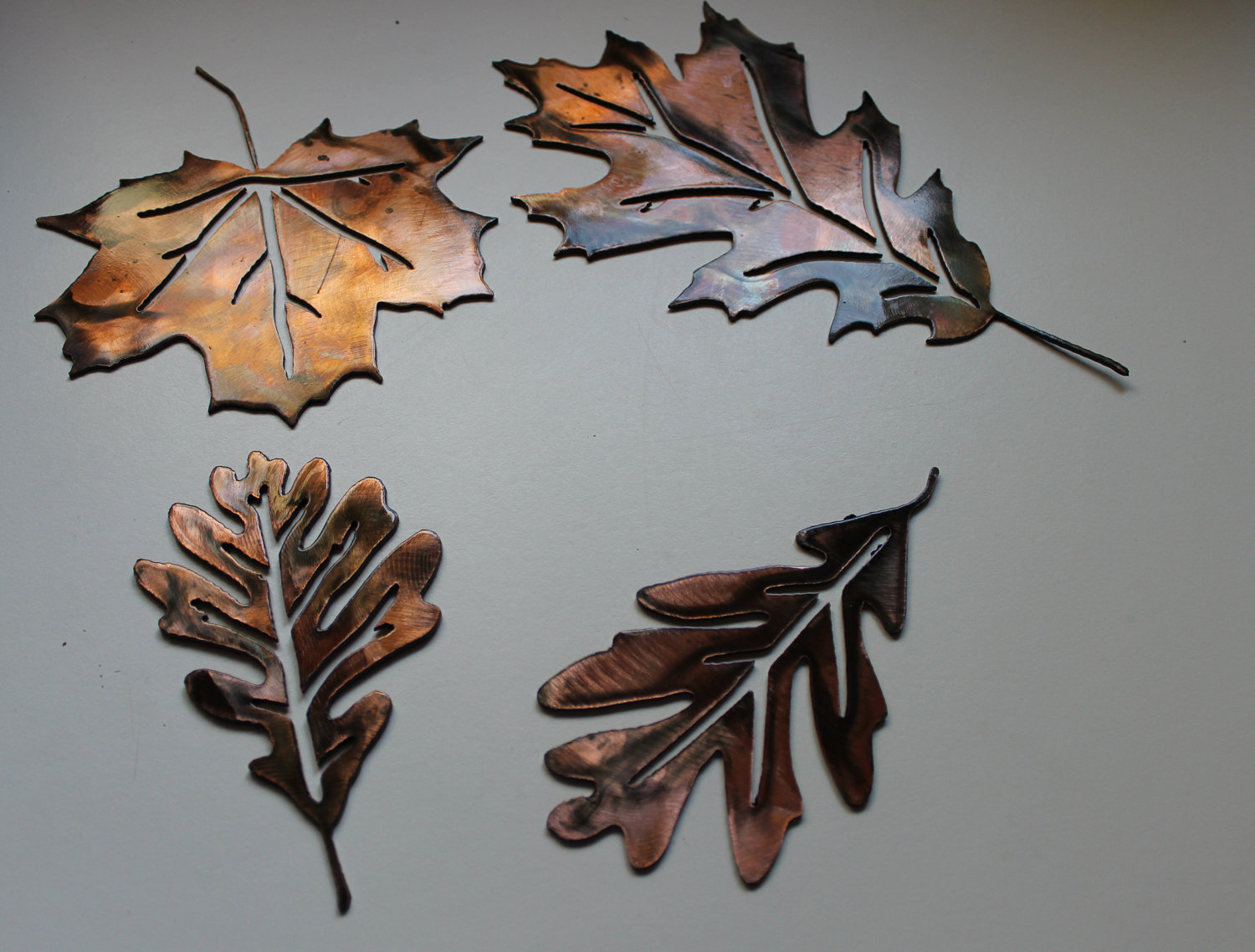 Metal Leaf Wall Decor By Red Barrel Studio Intended For Well Known Stlye Metal Leaves Wall Decor Design Idea And Decors How Custom (View 10 of 20)
