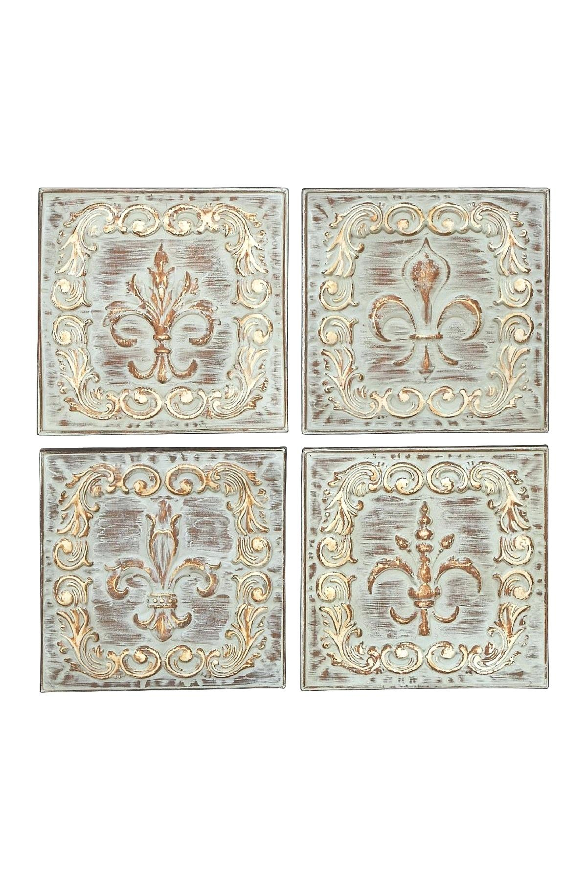 Metal Wall Decor Set Full Size Of Modern Patio Wall Decor Sets Smart Pertaining To Famous 4 Piece Metal Wall Decor Sets (View 8 of 20)