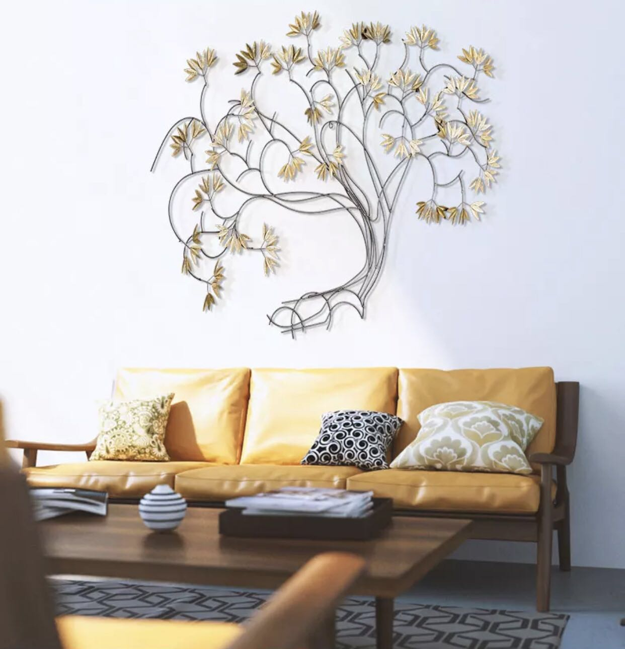 Most Current Raheem Flowers Metal Wall Decor In Maple Leaves – Metal Wall Art Decor Painting, Furniture, Home Decor (View 10 of 20)