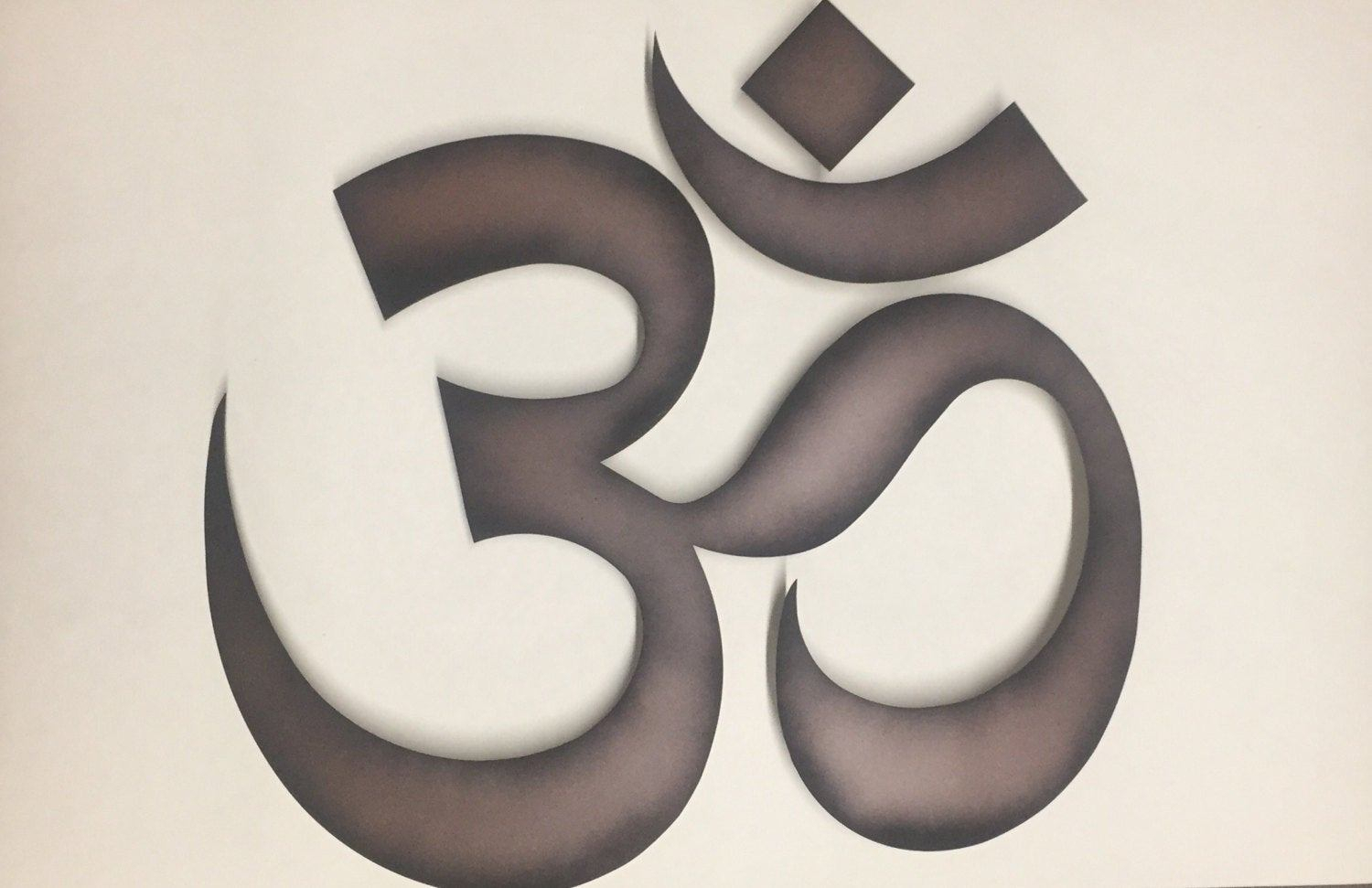 Most Popular Oil Rubbed Metal Wall Decor In Om Metal Art Oil Rubbed Bronze Wall Decor Metal Wall Art, Bronze (View 8 of 20)
