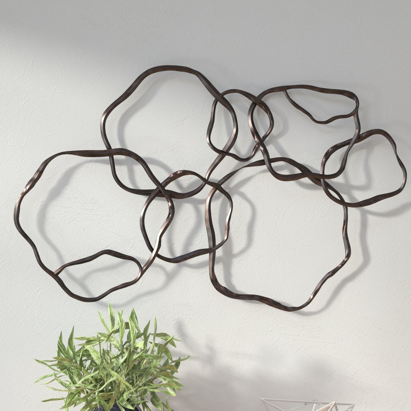 Most Popular Rings Wall Decor Inside Wrought Studio Rings Wall Décor & Reviews (View 3 of 20)