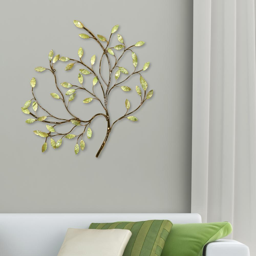 Most Recent Oil Rubbed Metal Wall Decor Pertaining To Oil Rubbed Bronze And Green Tree Metal Work Wall Decor 2159 – The (View 9 of 20)