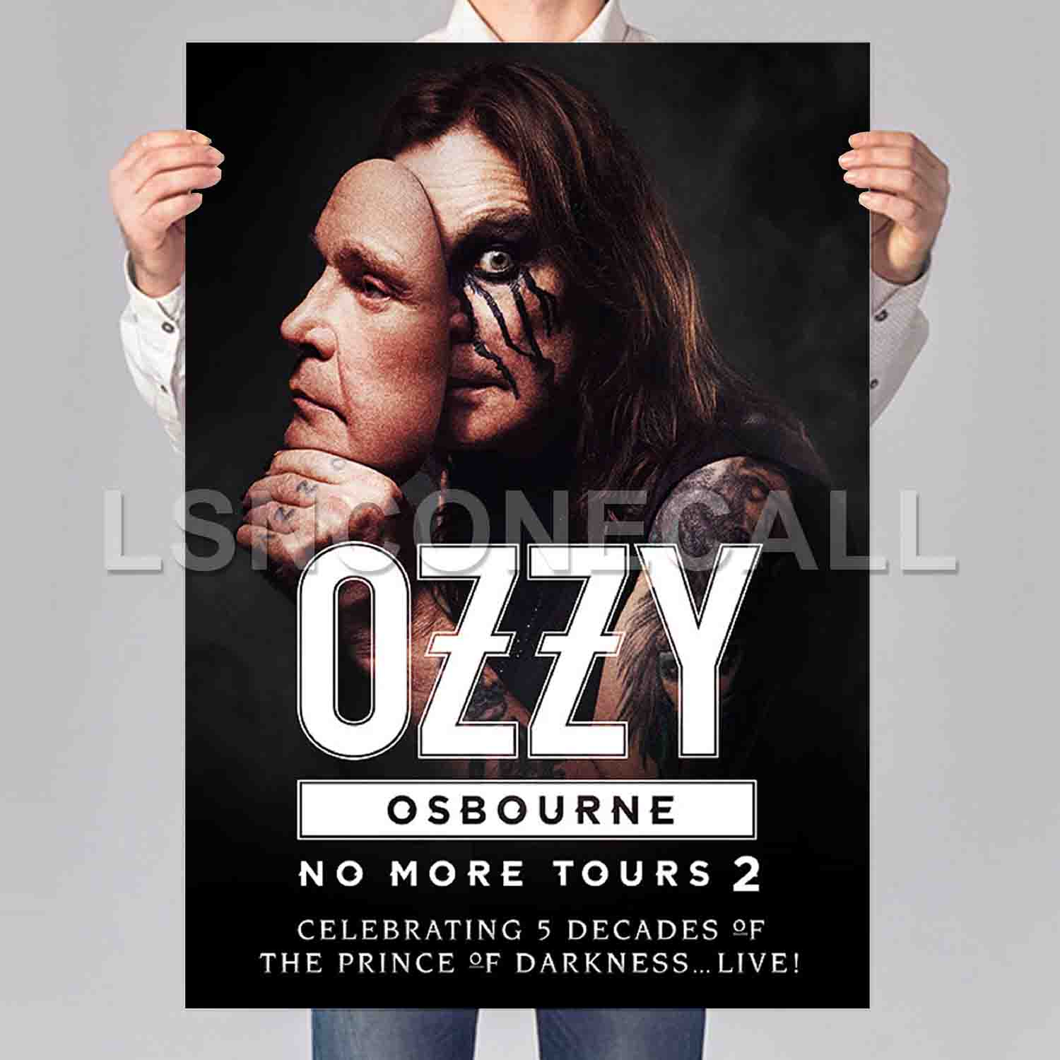 Most Up To Date Ozzy Osbourne No More Tours 2 Poster Print Art Wall Decor – Inside Osbourne Wall Decor (View 8 of 20)