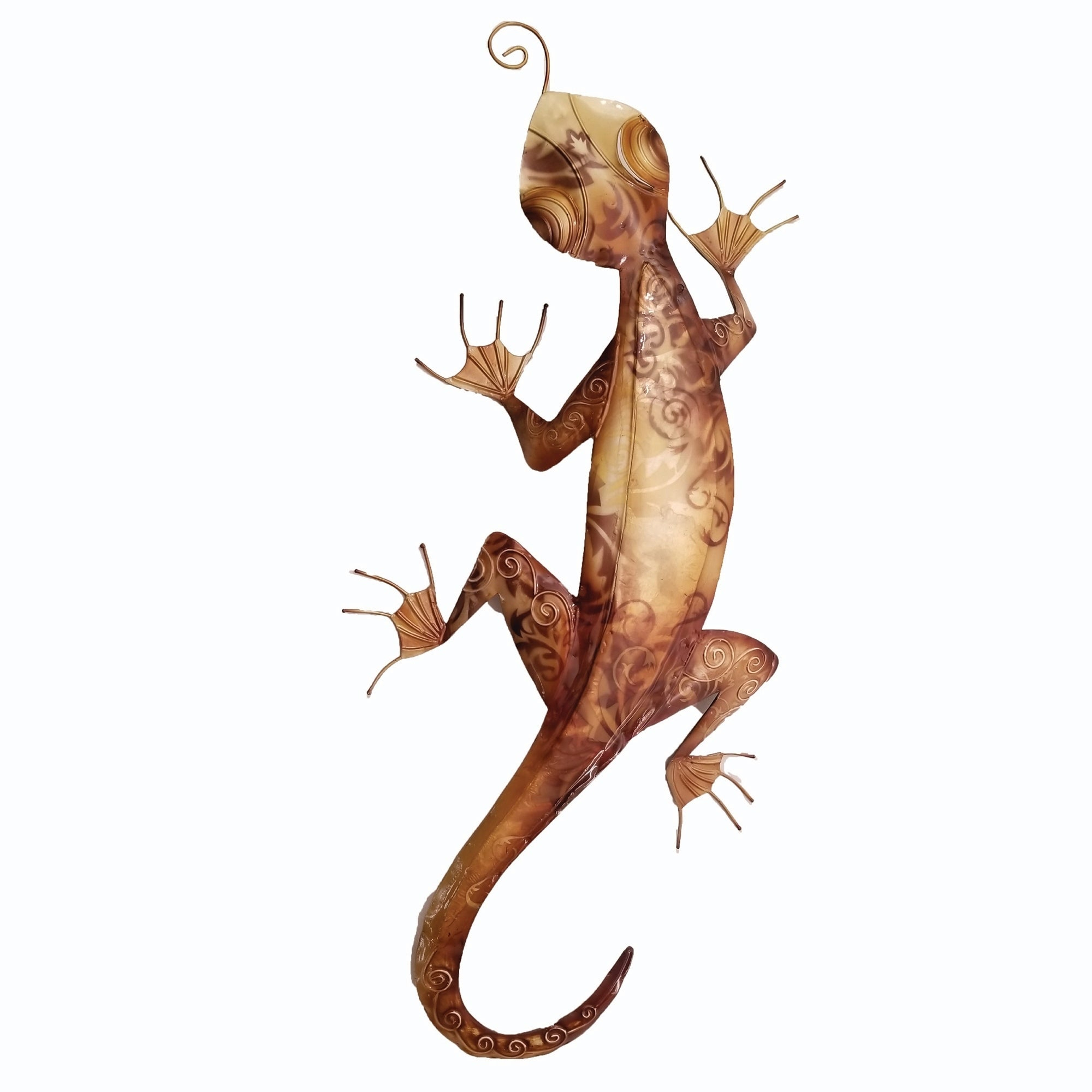 Most Up To Date Shop Handmade Gecko Wall Decor Brown – On Sale – Free Shipping On With Gecko Wall Decor (View 13 of 20)