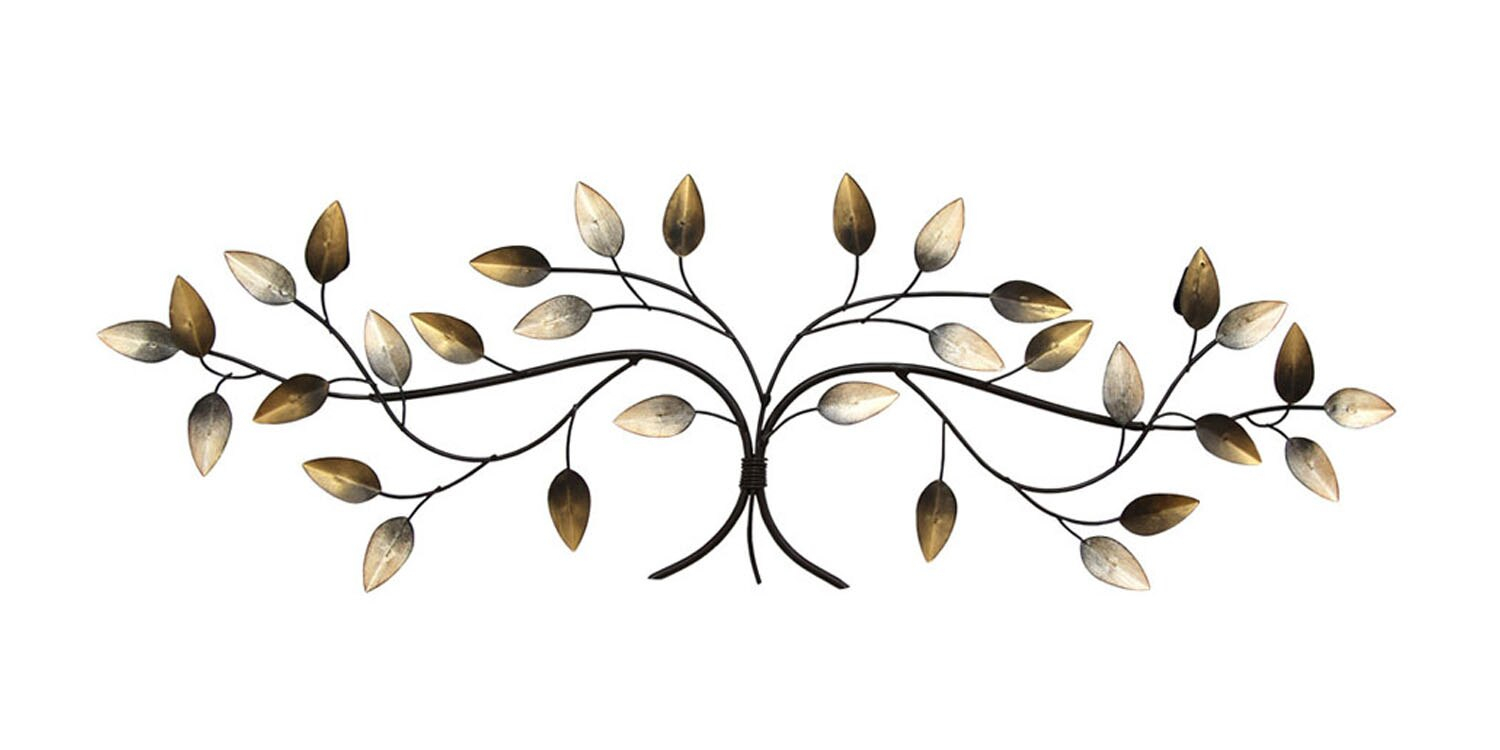 Newest Clickhere2shop: Stratton Home Decor Over The Door Blowing Leaves Within Blowing Leaves Wall Decor (View 7 of 20)