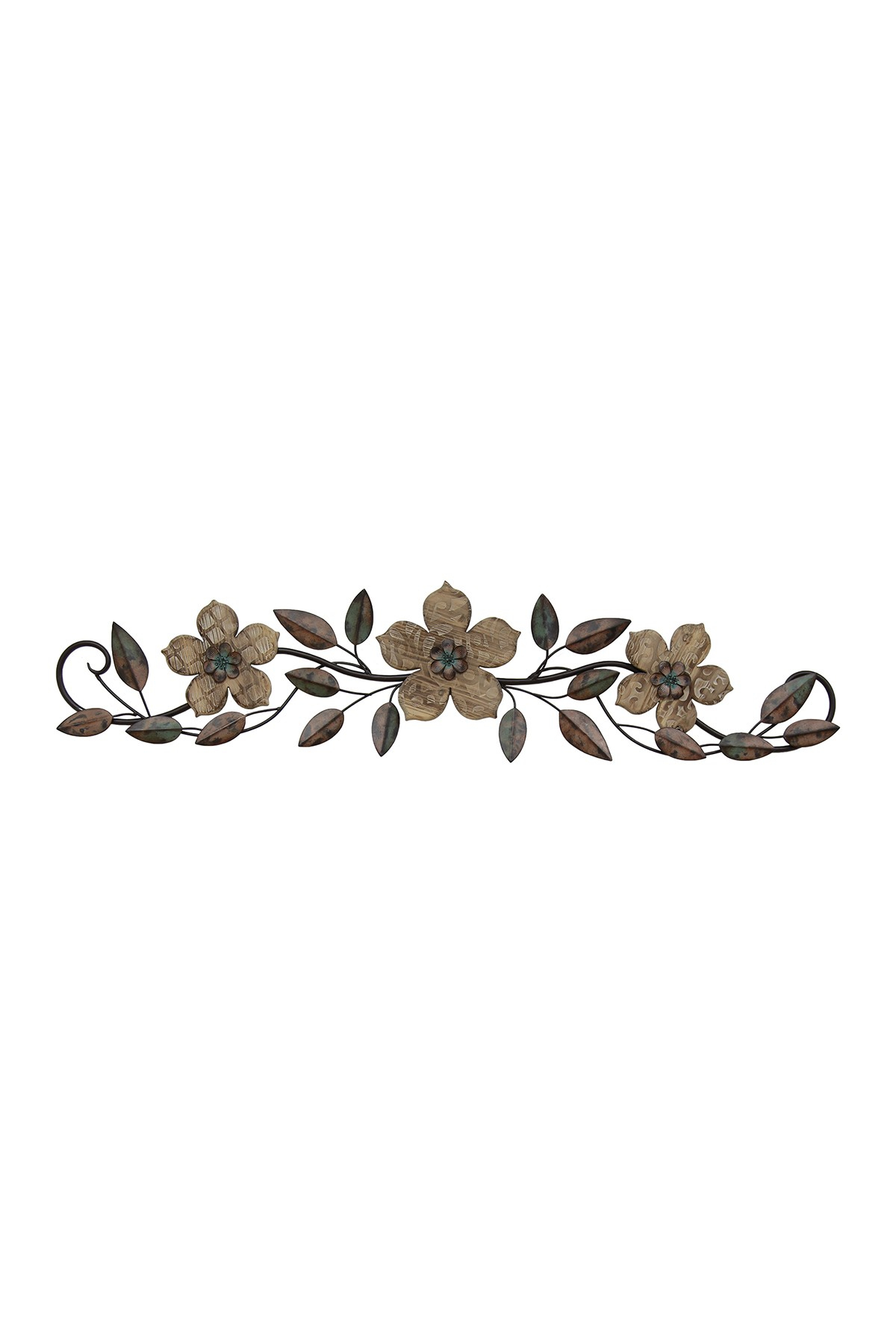 Newest Floral Patterned Over The Door Wall Decor In Floral Patterned Wood Over The Door Multicolor Wall Decor (Gallery 2 of 20)