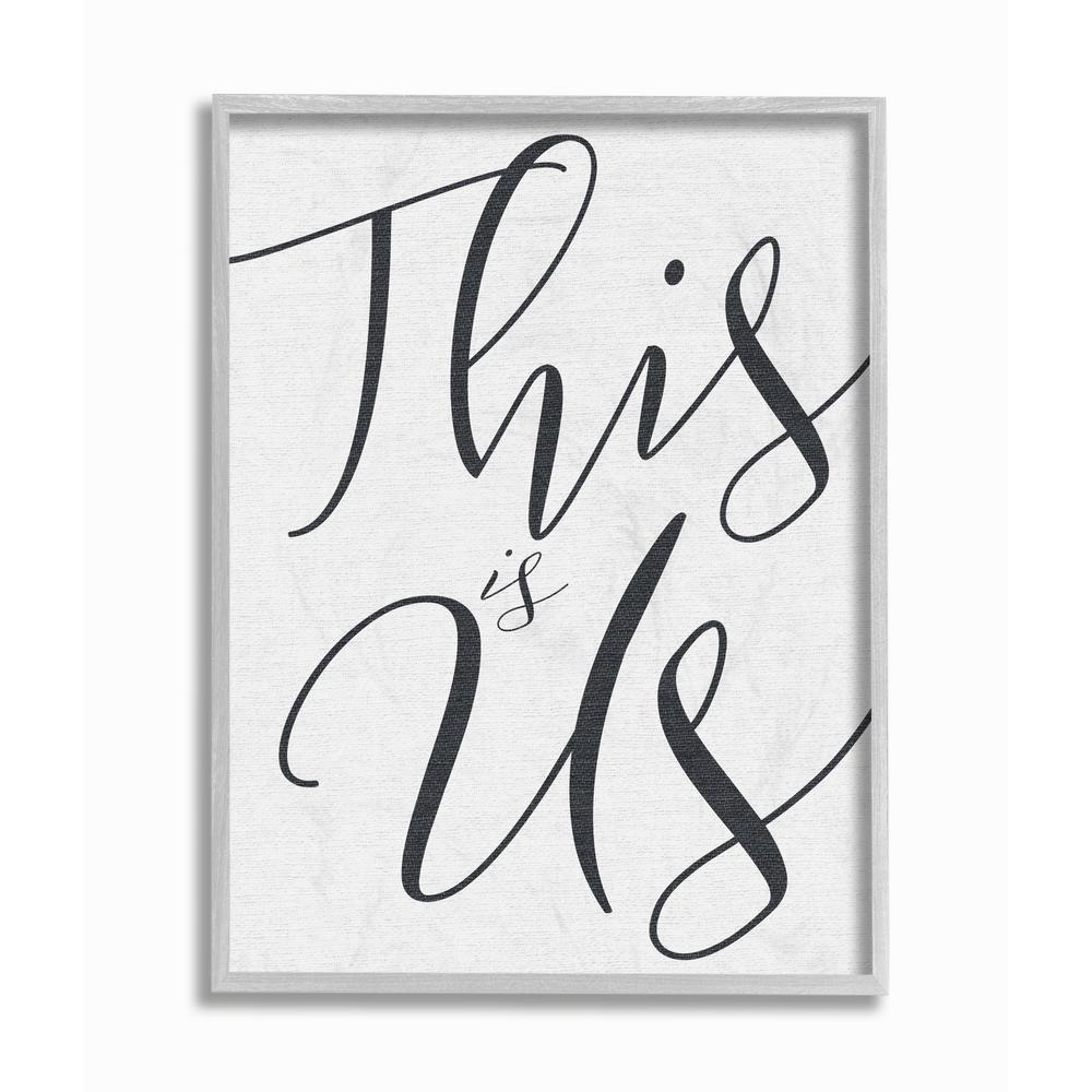 "Newest This Is Us Wall Decor intended for The Stupell Home Decor Collection 16 In. X 20 In. ""this Is Us"