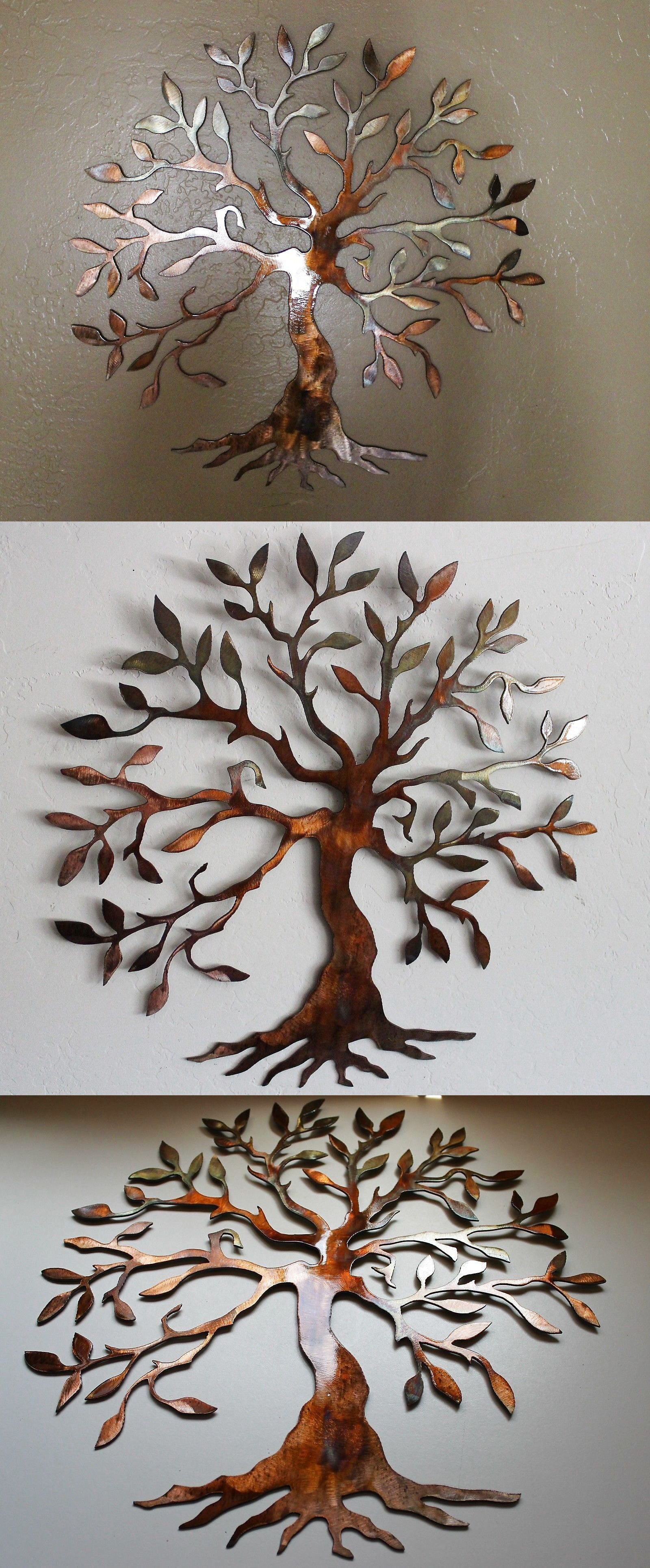 "Olive Tree –Tree Of Life 20"" Metal Wall Art Decor $ (View 6 of 20)"