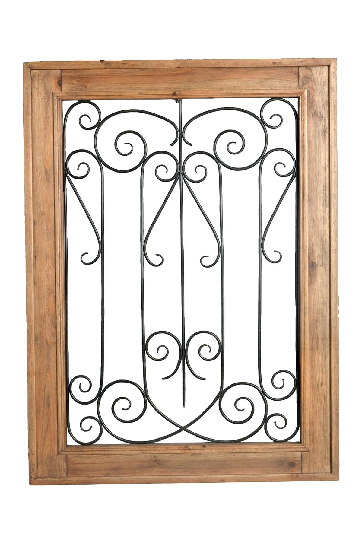 Ornate Scroll Wall Decor Pertaining To Widely Used Metal Scroll Wall Decor – Oknews (View 11 of 20)