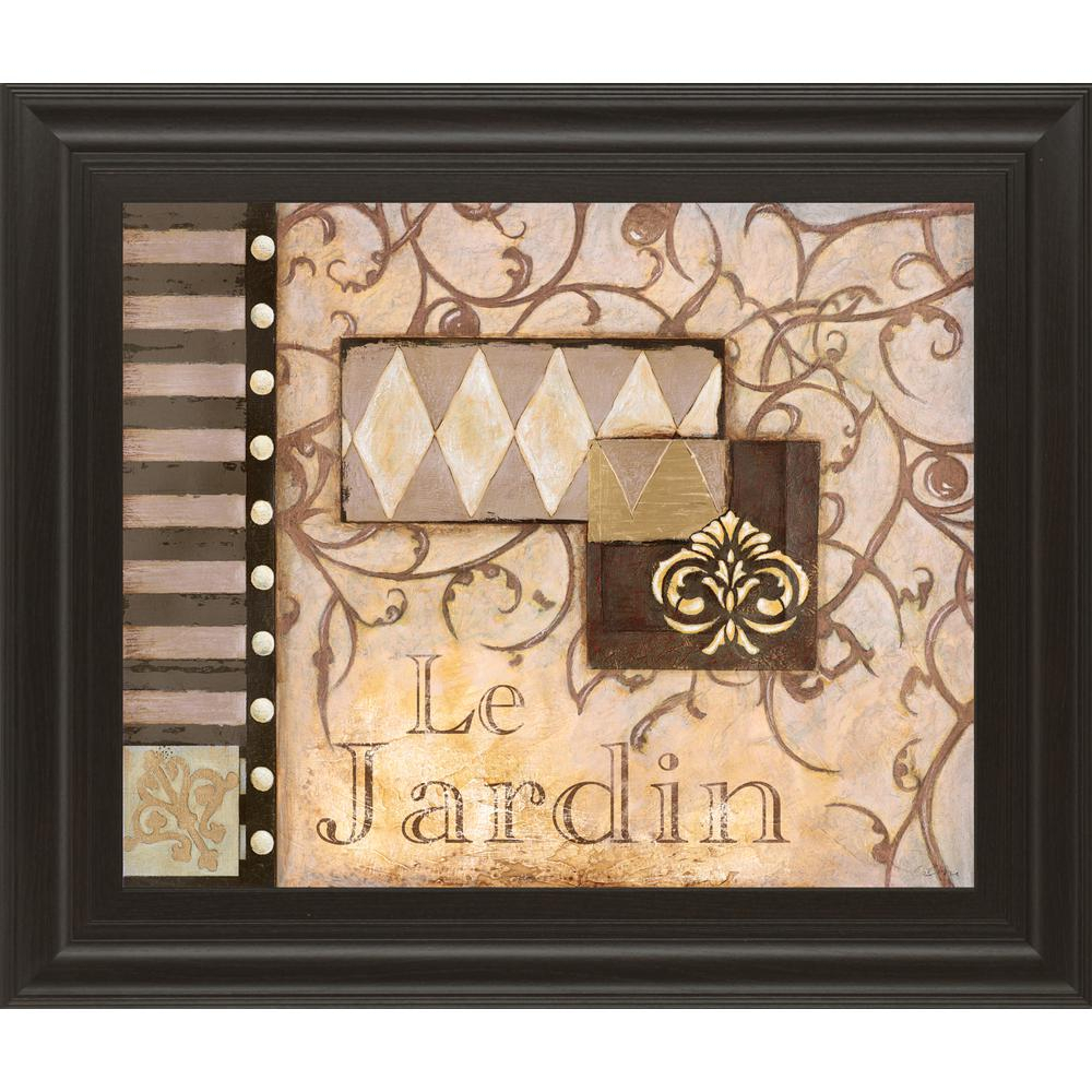 "Osbourne Wall Decor With Regard To Latest Classy Art 22 In. X 26 In. ""la Jardin""susan Osbourne Framed (Gallery 16 of 20)"