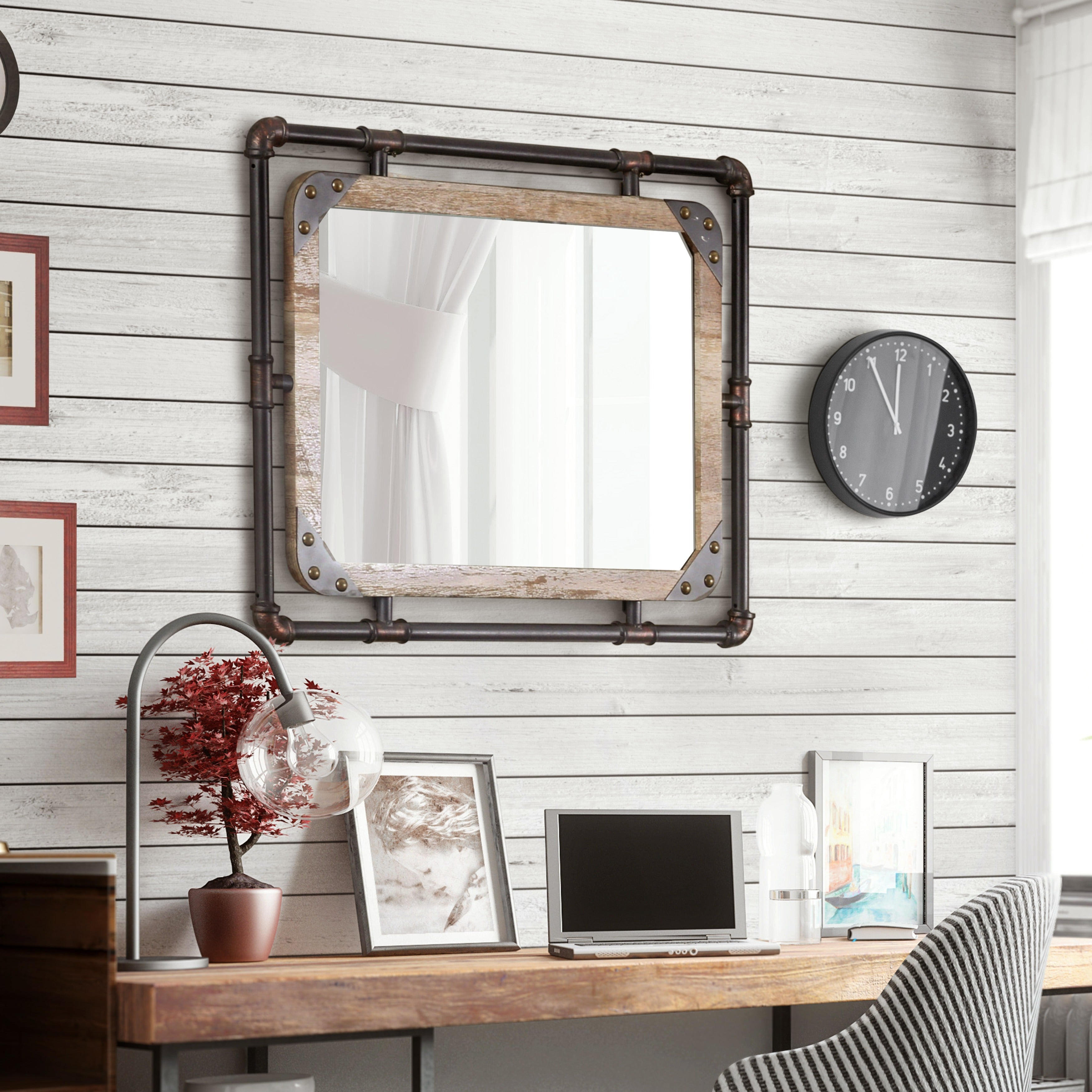 Our Best Decorative Accessories Deals In Fashionable Large Modern Industrial Wall Decor (View 14 of 20)