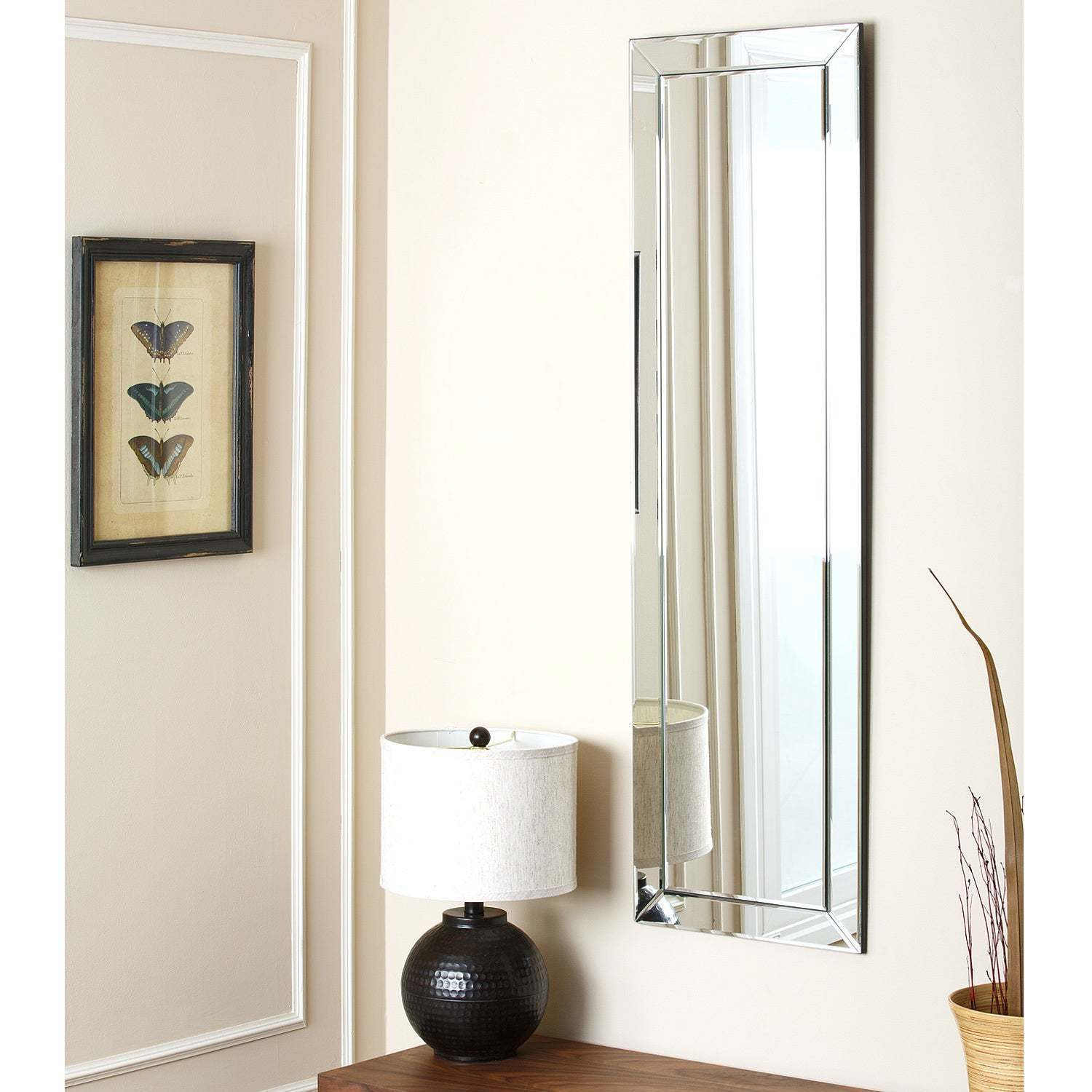 Pennsburg Rectangle Wall Mirror For Most Recently Released Buy Rectangular, Wall Mirror Mirrors Online At Overstock (View 18 of 20)