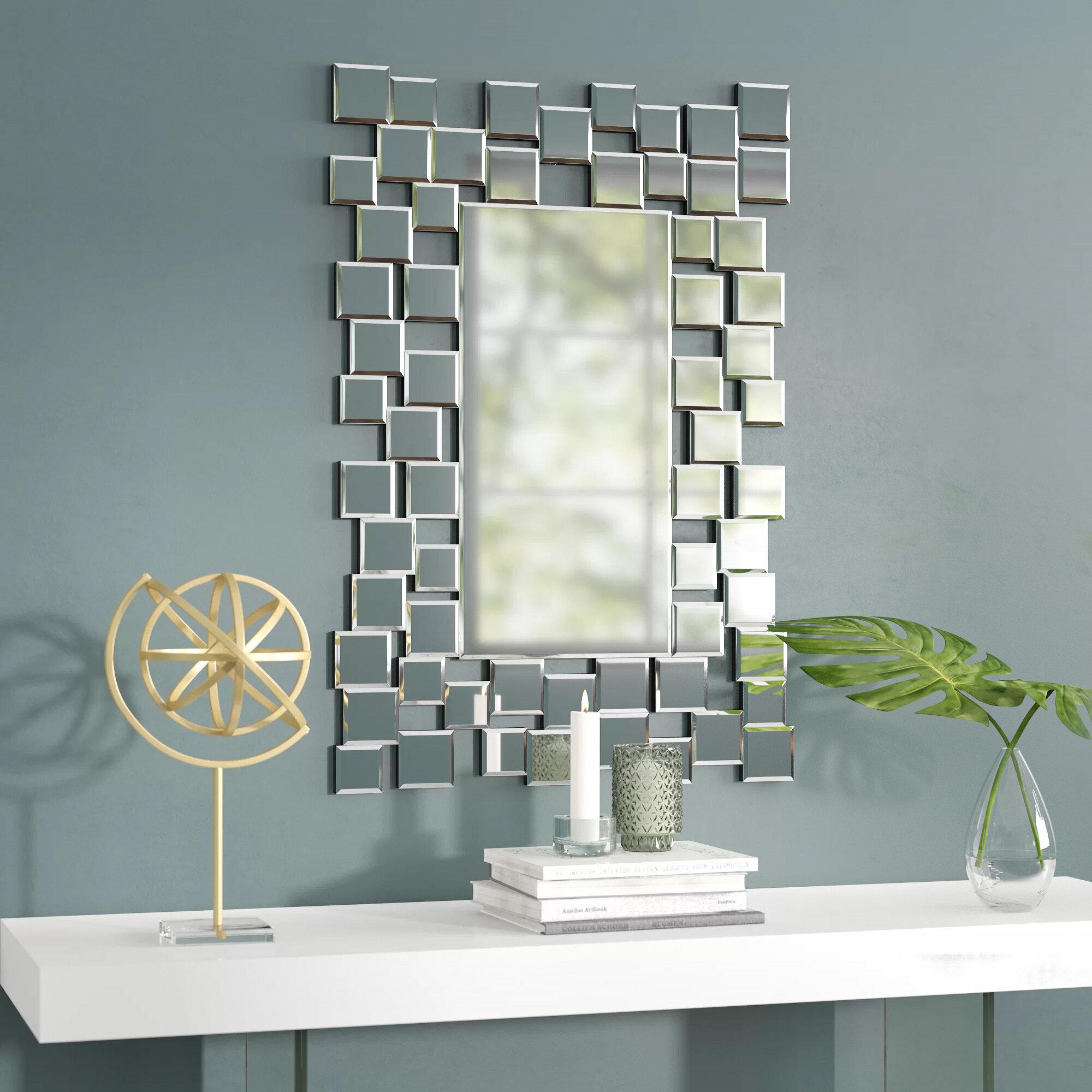 Pennsburg Rectangle Wall Mirror Regarding Famous Brayden Studio Modern & Contemporary Accent Wall Mirror (View 12 of 20)