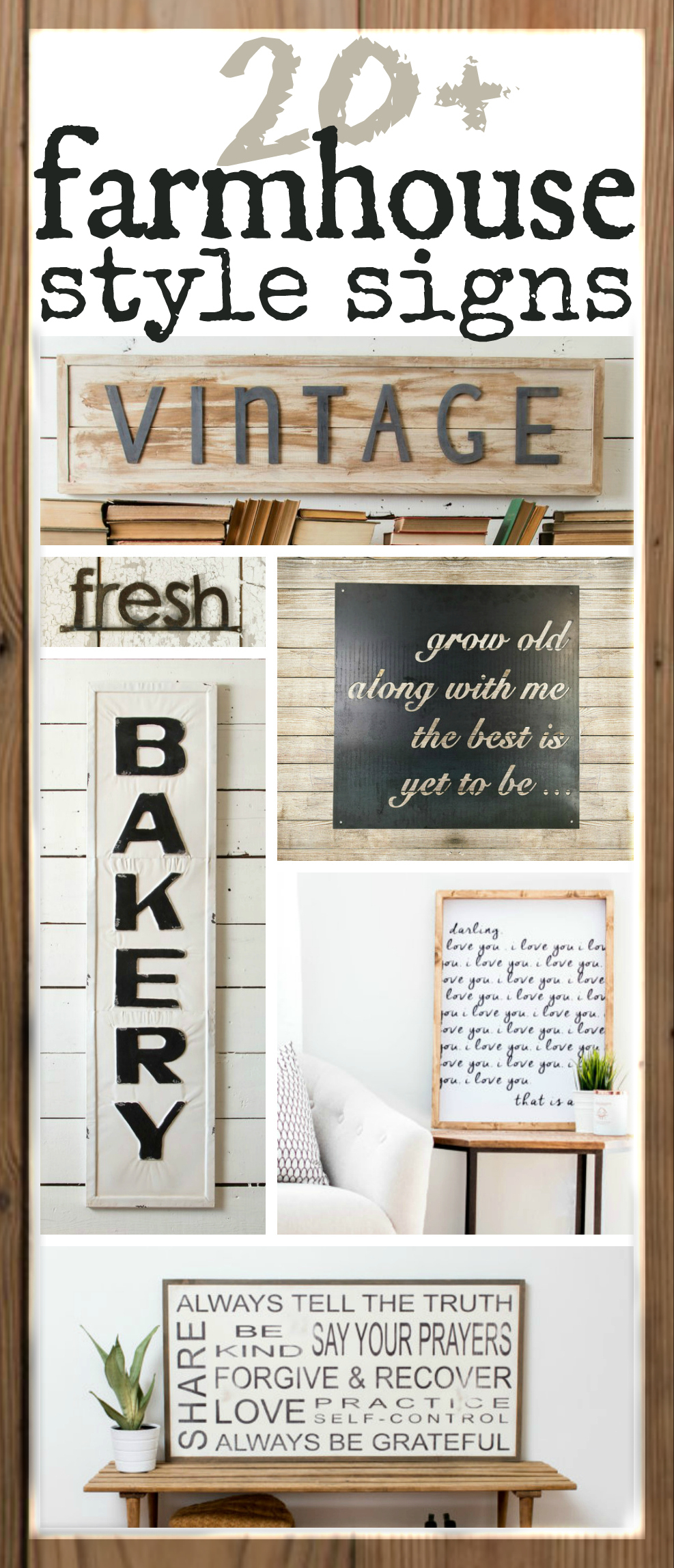 Personalized Distressed Vintage Look Kitchen Metal Sign Wall Decor Regarding Most Popular Fixer Upper Inspired Farmhouse Signs You Can Buy Online! – The (View 14 of 20)