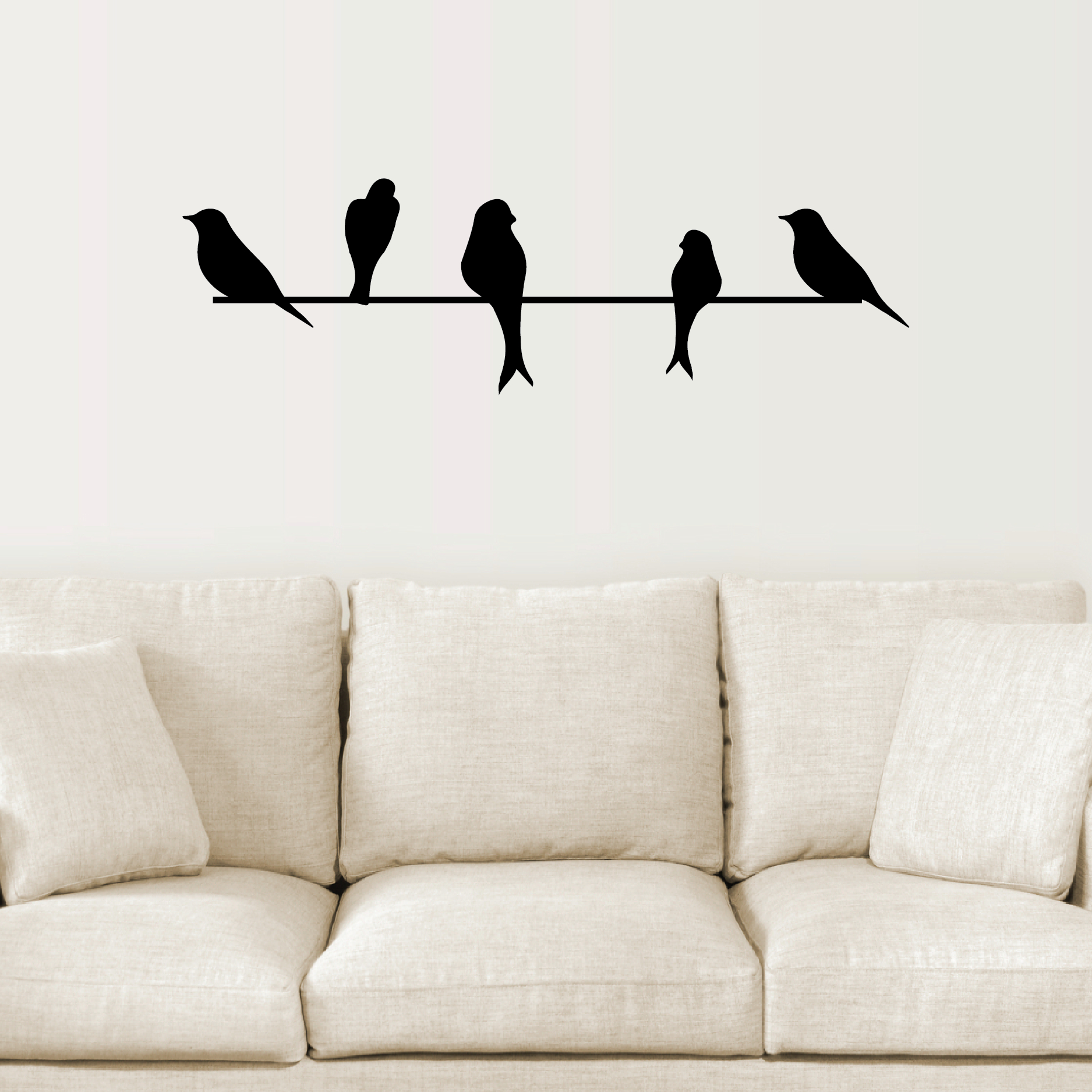 Popular Birds On A Wire Wall Decor Pertaining To Birds On A Wire Wall Quotes™ Wall Art Decal (View 2 of 20)
