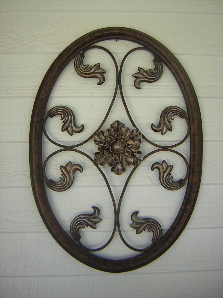 Popular Oil Rubbed Bronze Metal Wall Hangings (View 17 of 20)