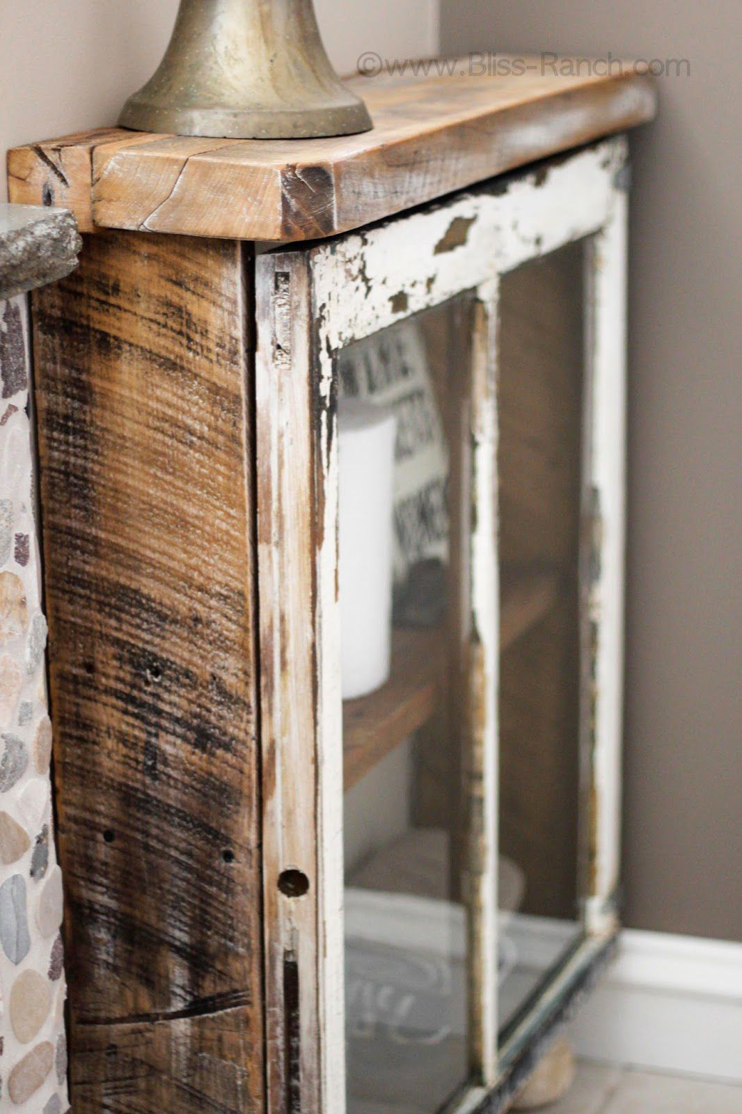 Popular Old Window Frames - Easy Craft Ideas with Old Rustic Barn Window Frame