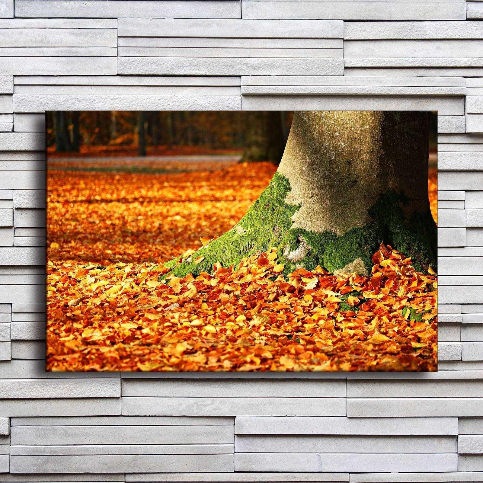 Preferred Blowing Leaves Wall Decor Pertaining To Detail Feedback Questions About Home Decor Canvas Painting Wall Art (View 18 of 20)