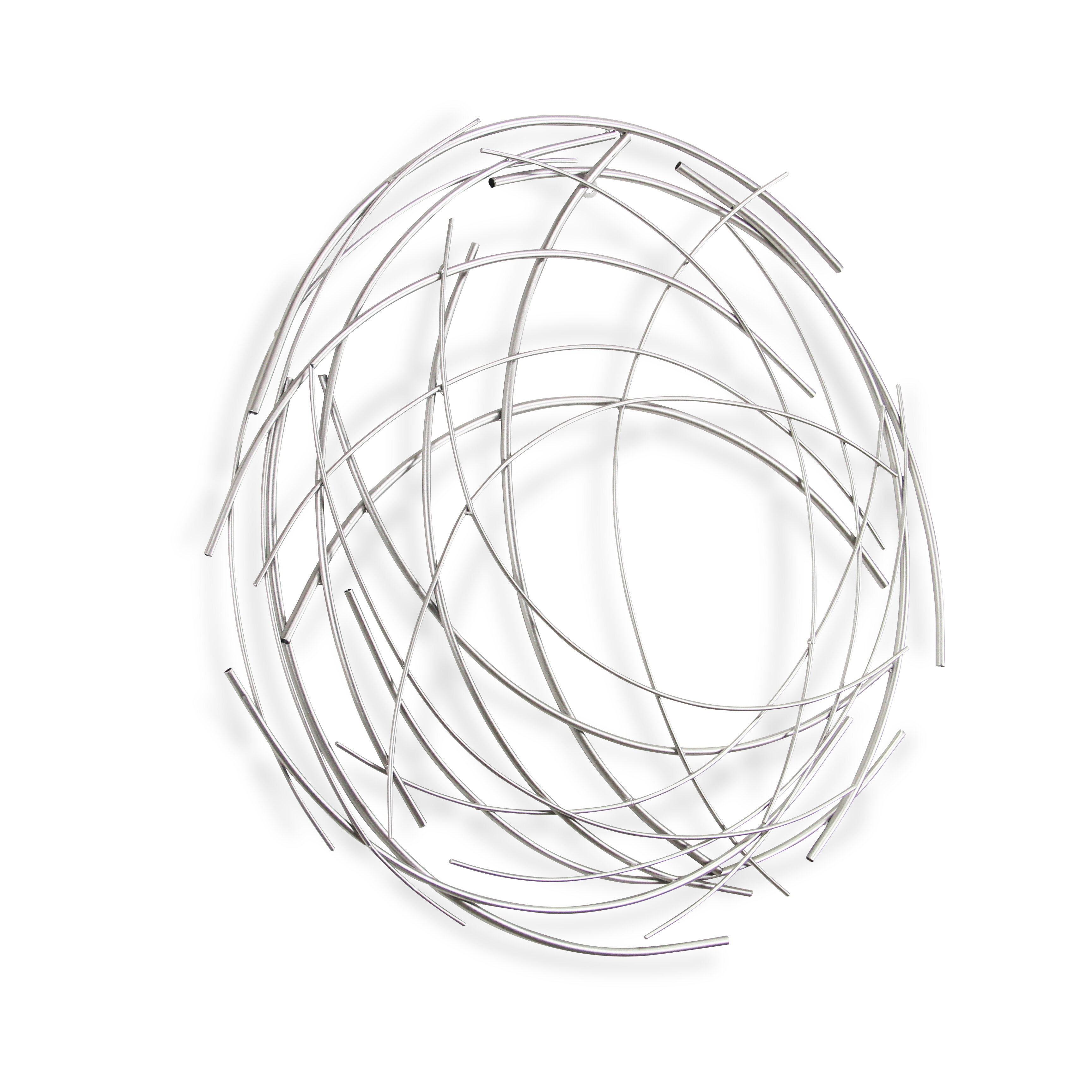 Preferred Contemporary Abstract Round Wall Decor Throughout Orren Ellis Contemporary Abstract Round Wall Décor & Reviews (Gallery 1 of 20)
