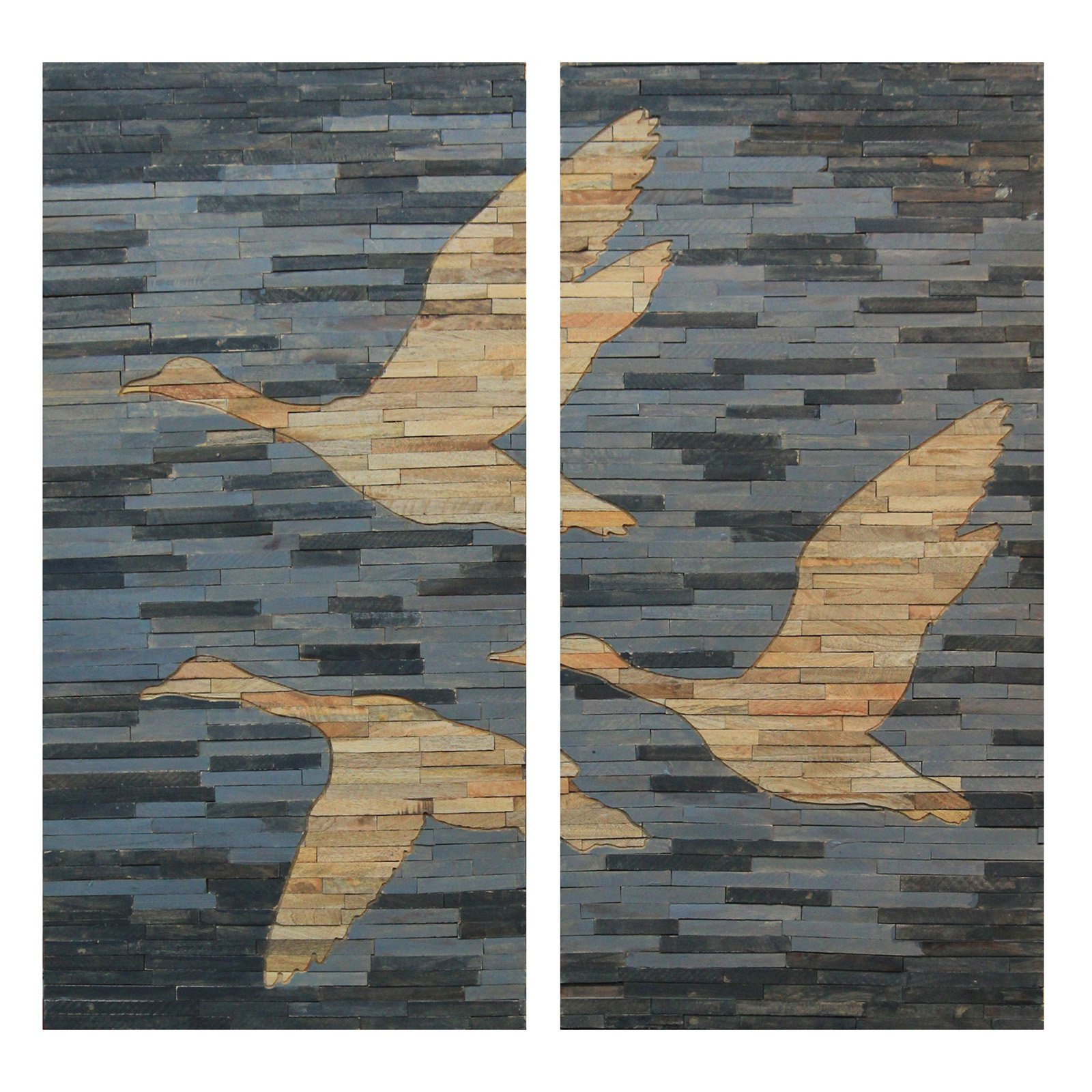 Products Inside Widely Used 2 Piece Panel Wood Wall Decor Sets (Set Of 2) (View 16 of 20)
