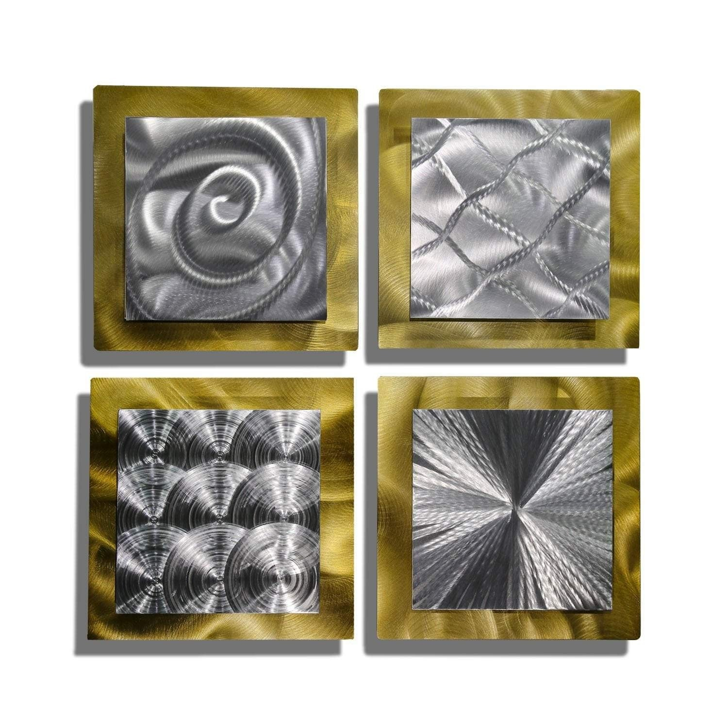 Recent 4 Piece Metal Wall Decor Sets With Regard To Metal Art (View 17 of 20)