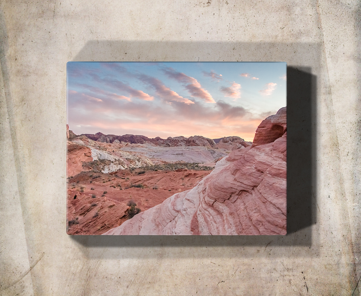 Recent Aurora Sun Wall Decor Intended For Red Desert Sunset Wall Art Print – Rogue Aurora Photography (View 15 of 20)