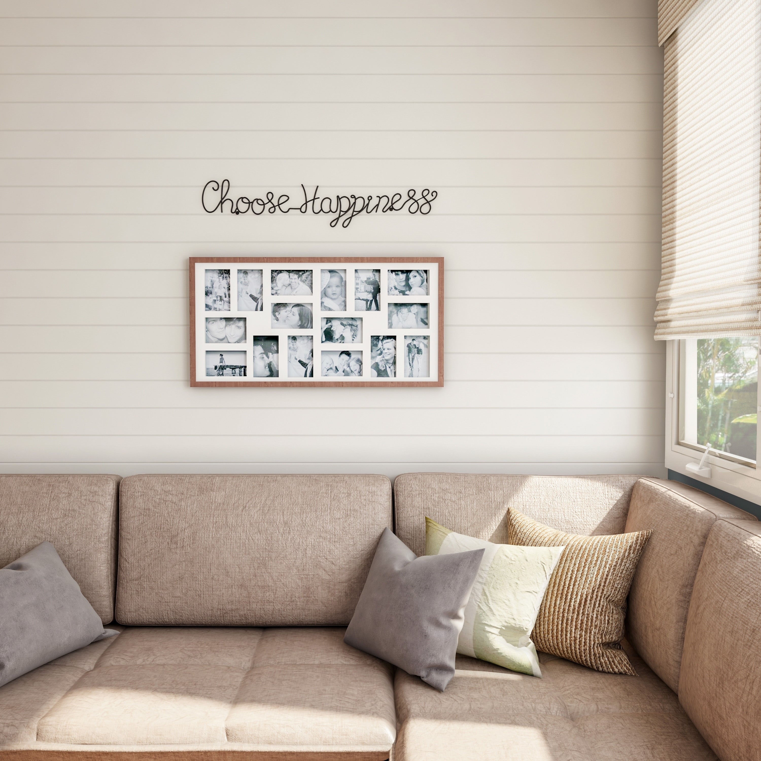 Recent Choose Happiness 3D Cursive Metal Wall Decor With Shop Metal Cutout  Choose Happiness Cursive Cutout Sign 3D Word Art (Gallery 14 of 20)