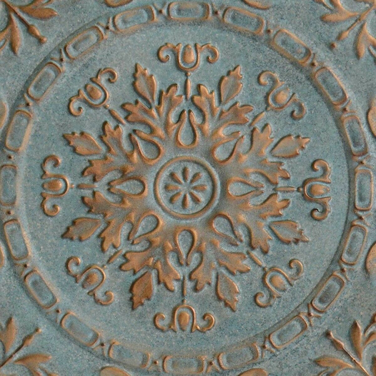 Recent European Medallion Wall Decor With Stratton Home Decor S09598 European Medallion Wall Decor Blue (View 2 of 20)