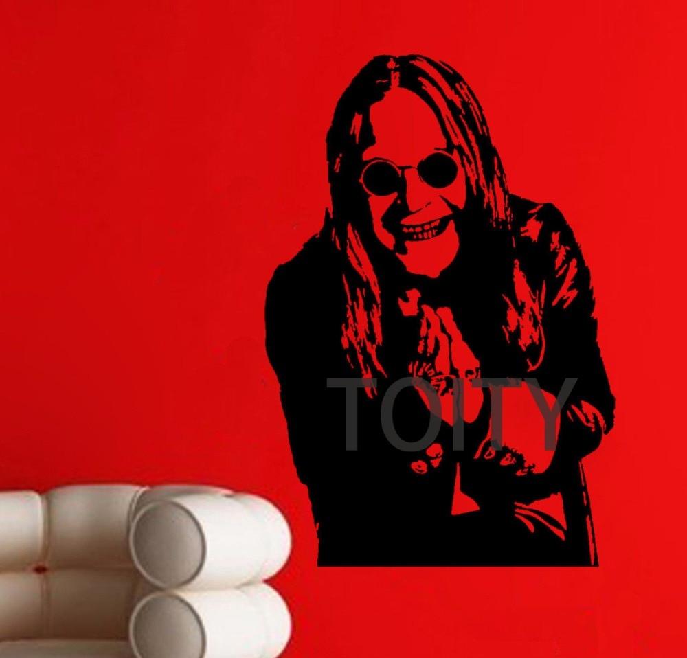 Recent Osbourne Wall Decor Regarding Ozzy Osbourne Wall Poster Sticker Heavy Metal Singer Vinyl Decal (View 16 of 20)