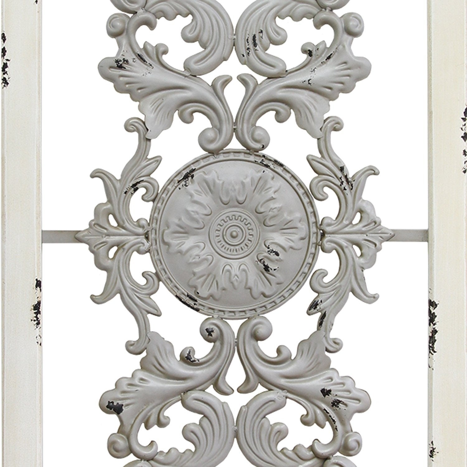 Scroll Panel Wall Decor In 2019 Shop Stratton Home Decor Grey Scroll Panel Wall Decor – Free (View 6 of 20)