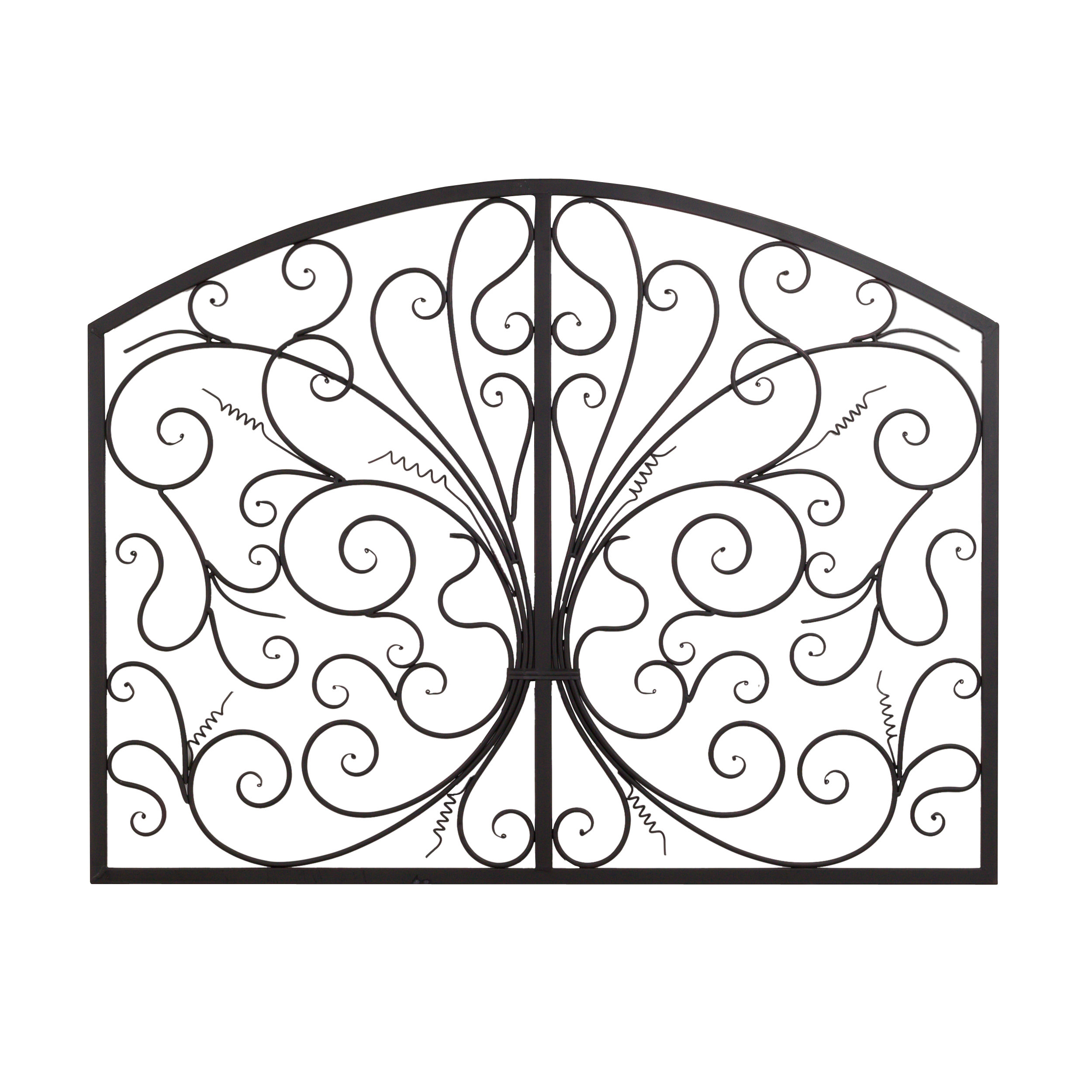 Scroll Panel Wall Decor Pertaining To 2019 Bayaccents Metal Scroll Complex Panel Wall Decor & Reviews (Gallery 7 of 20)