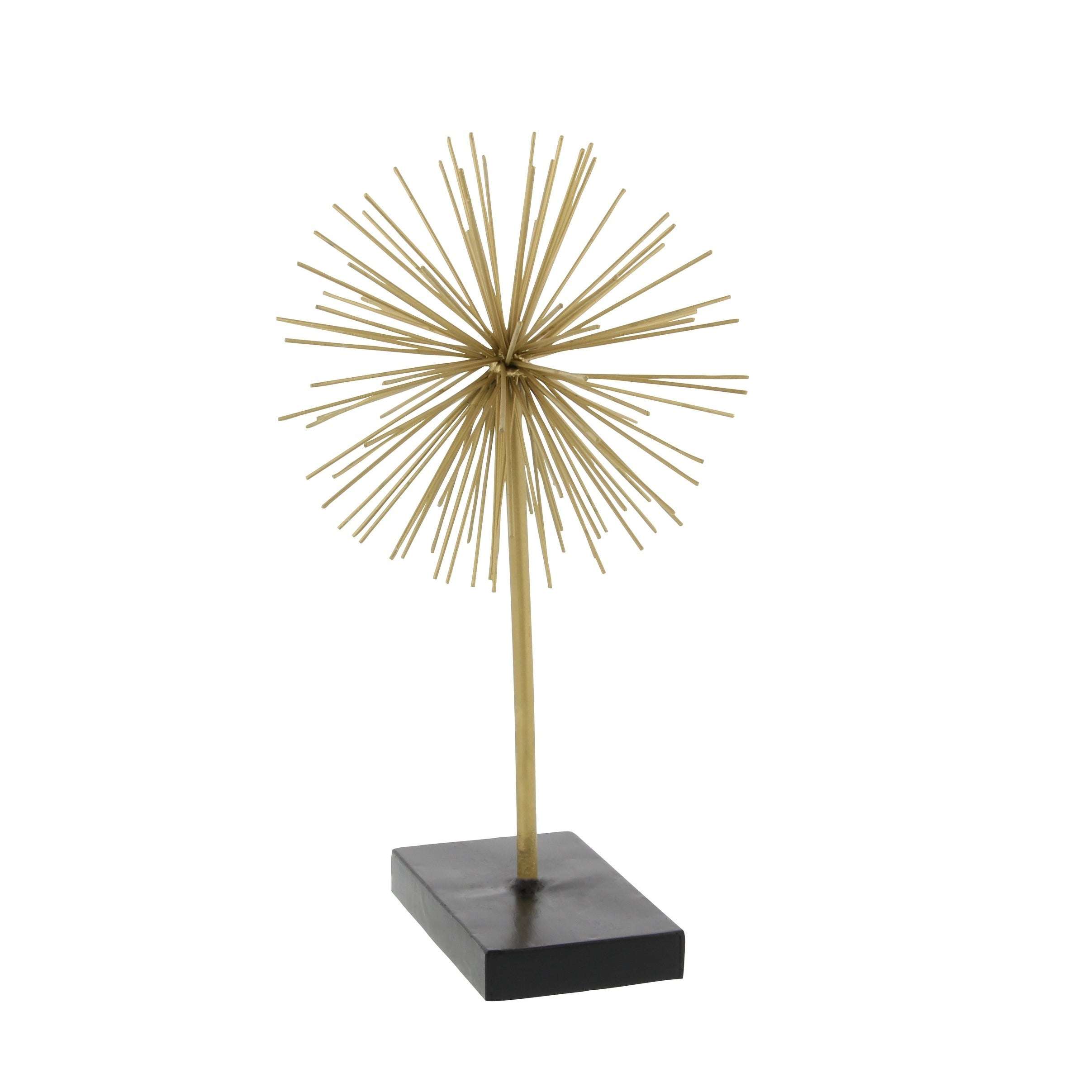 Set Of 3 Contemporary 6, 9, And 11 Inch Gold Tin Starburst Sculptures Throughout Latest Shop Tall Contemporary Style 3D Round Gold Metal Starburst (Gallery 4 of 20)