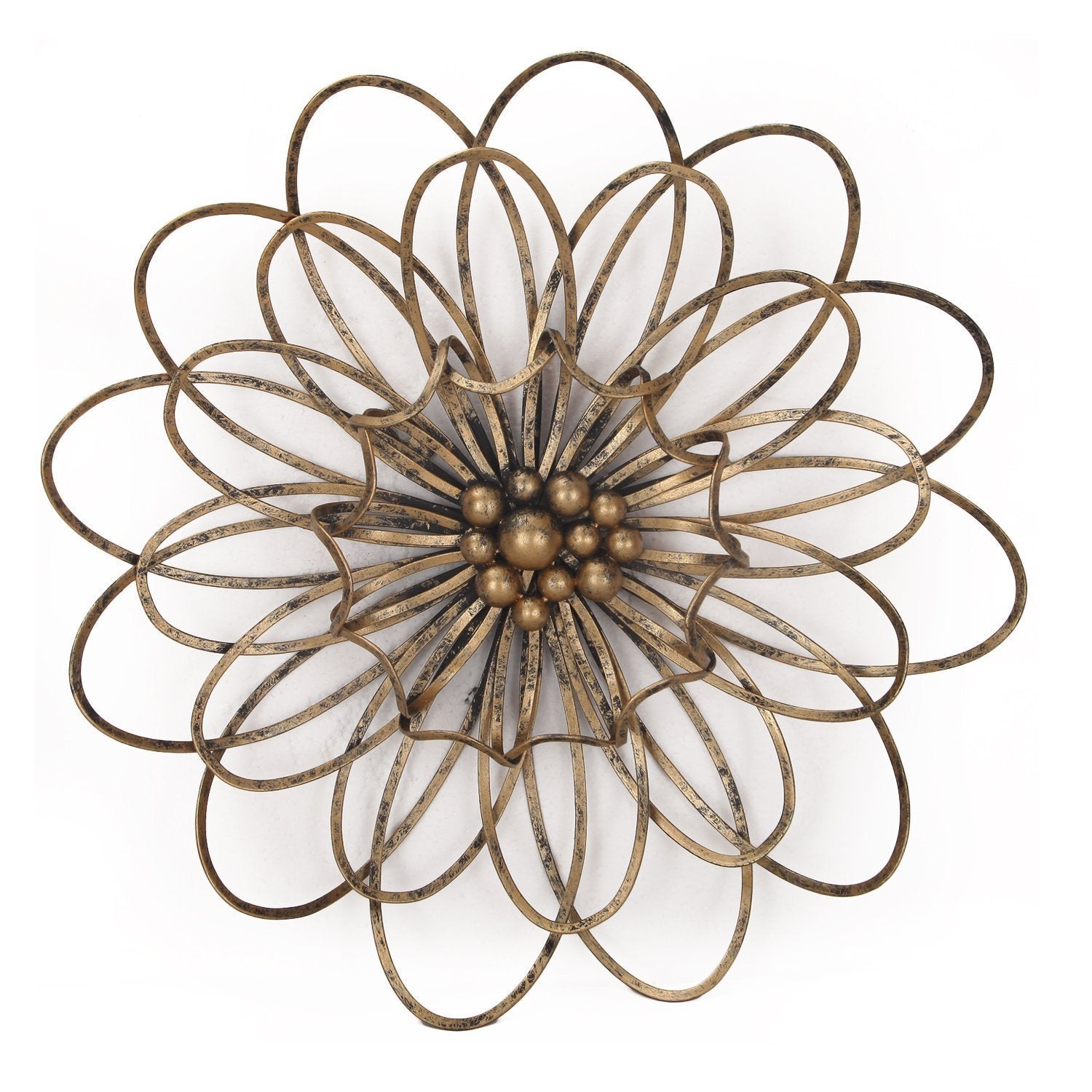 Shop Flower Urban Design Metal Wall Decor – Free Shipping Today Inside Widely Used Flower Urban Design Metal Wall Decor (Gallery 3 of 20)